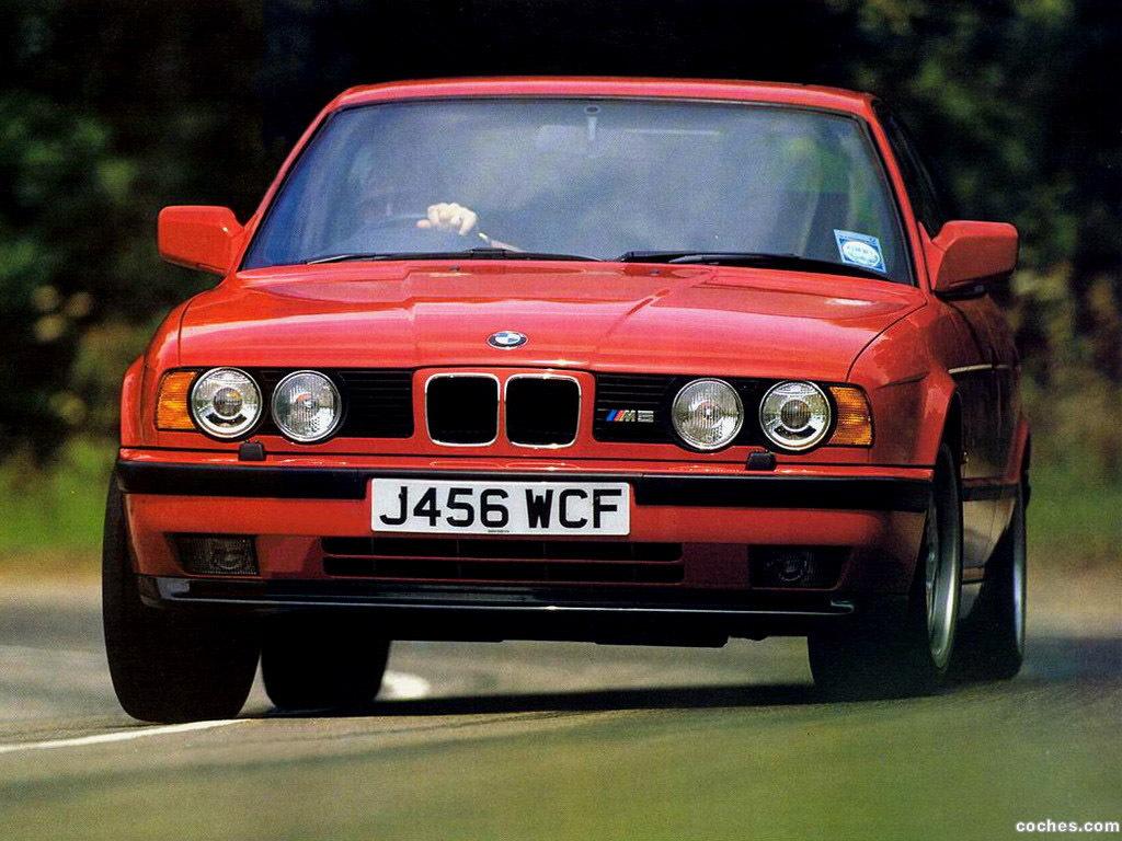 Foto 0 de BMW M5 Sedan E34 1988