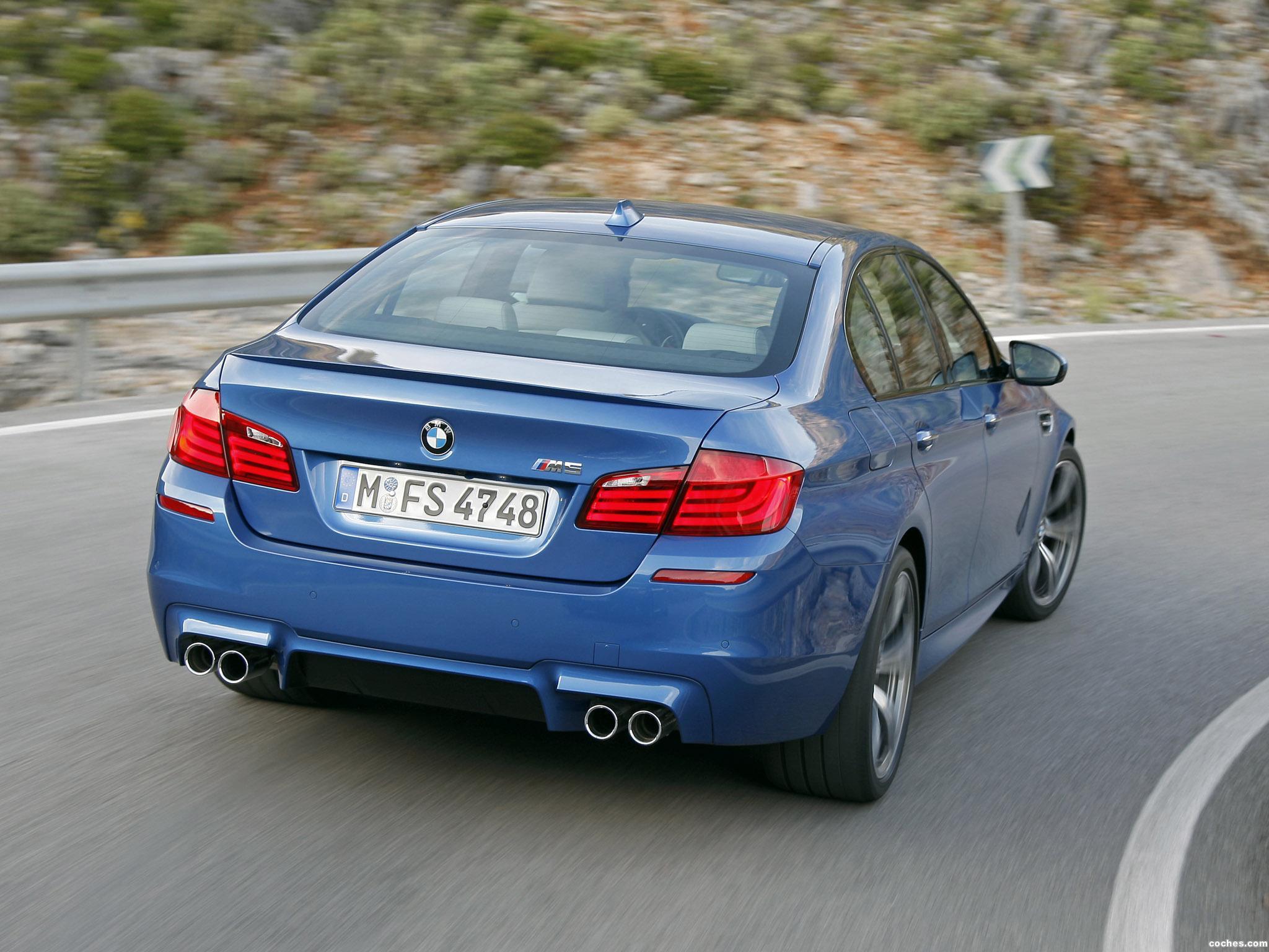 Foto 11 de BMW M5 Sedan F10 2011