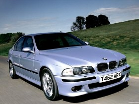 Fotos de BMW M5 Sedan UK E39 1998