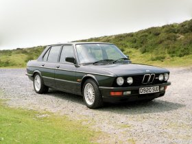 Fotos de BMW M5 UK E28