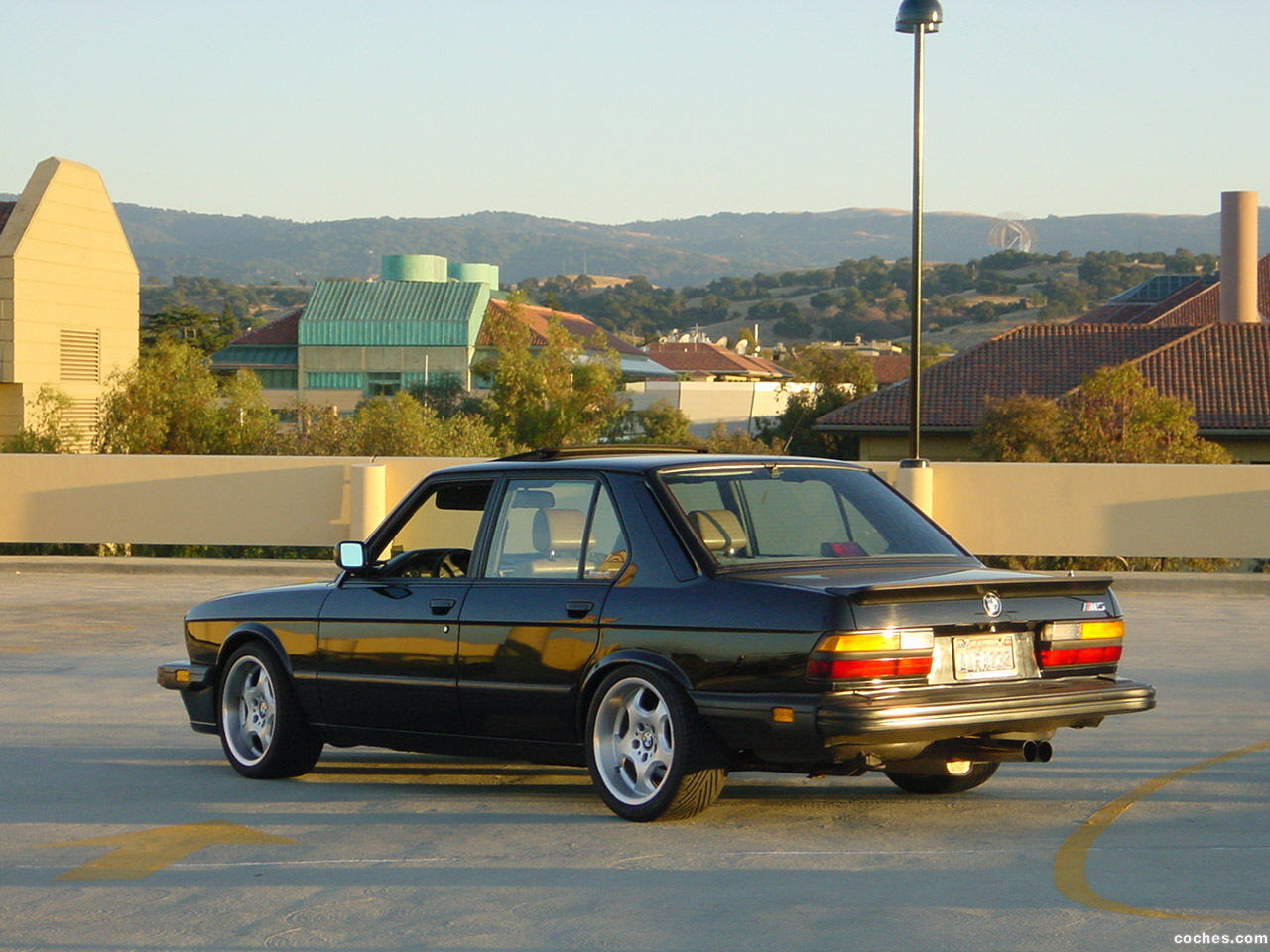 Foto 2 de BMW M5 USA E28 1986
