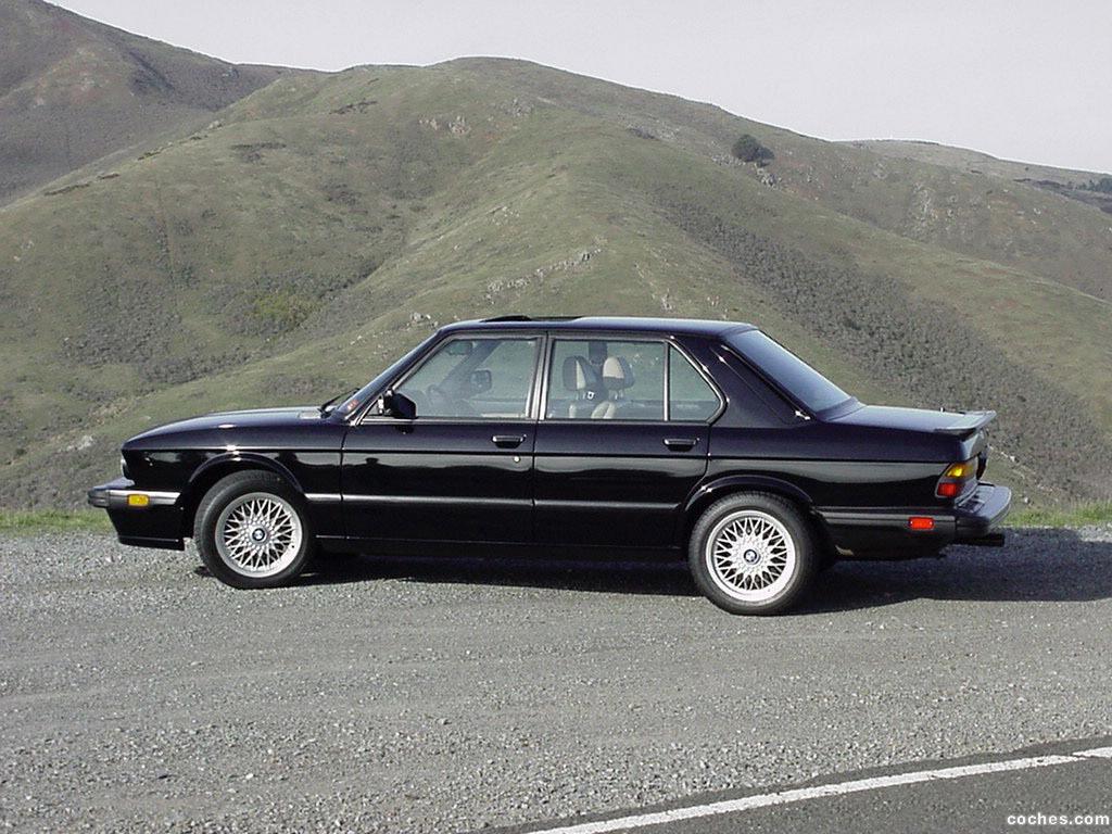 Foto 1 de BMW M5 USA E28 1986