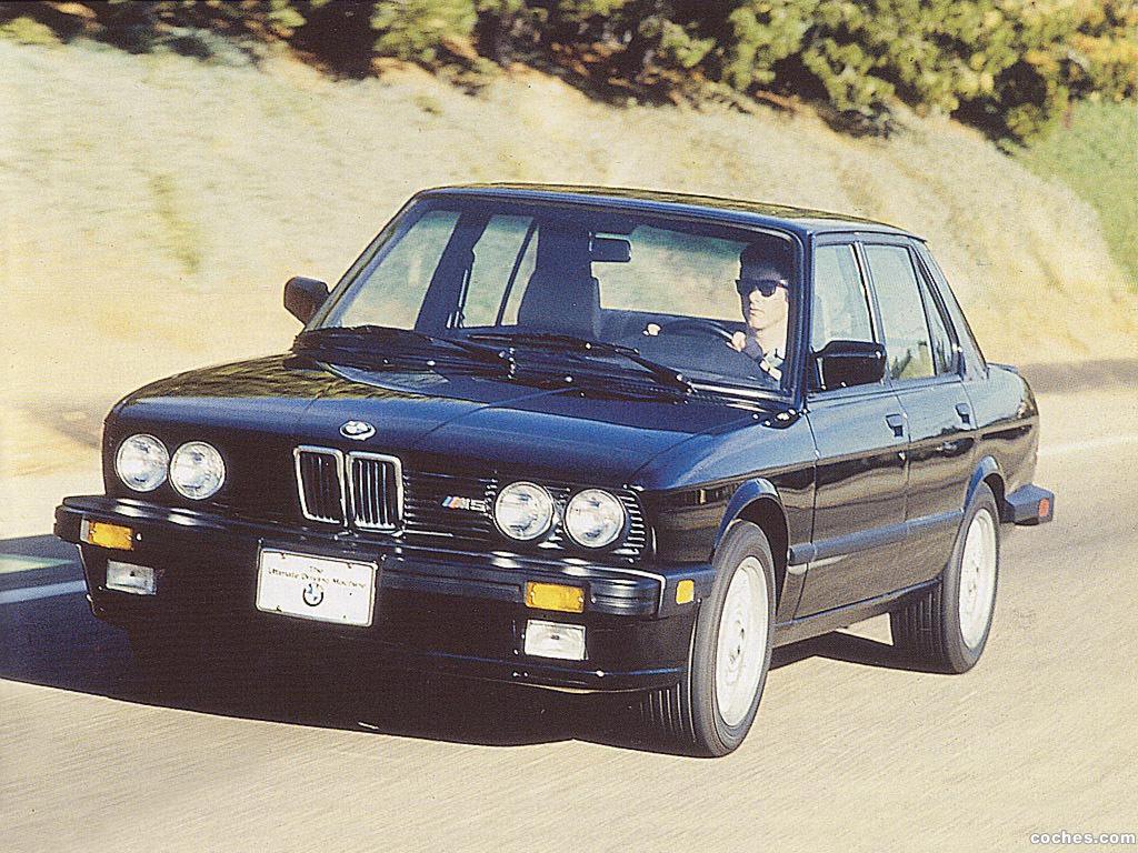 Foto 0 de BMW M5 USA E28 1986