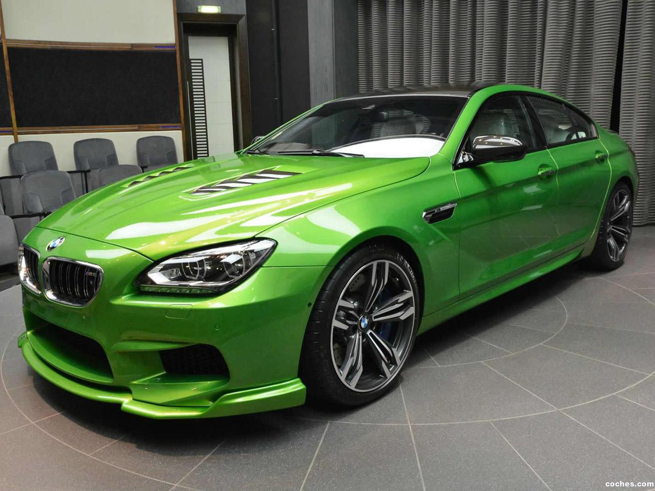 Foto 0 de BMW M6 Gran Coupe Java Green 2014