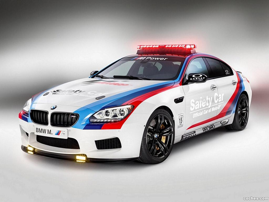 Foto 0 de BMW M6 Gran Coupe MotoGP Safety Car F06 2013