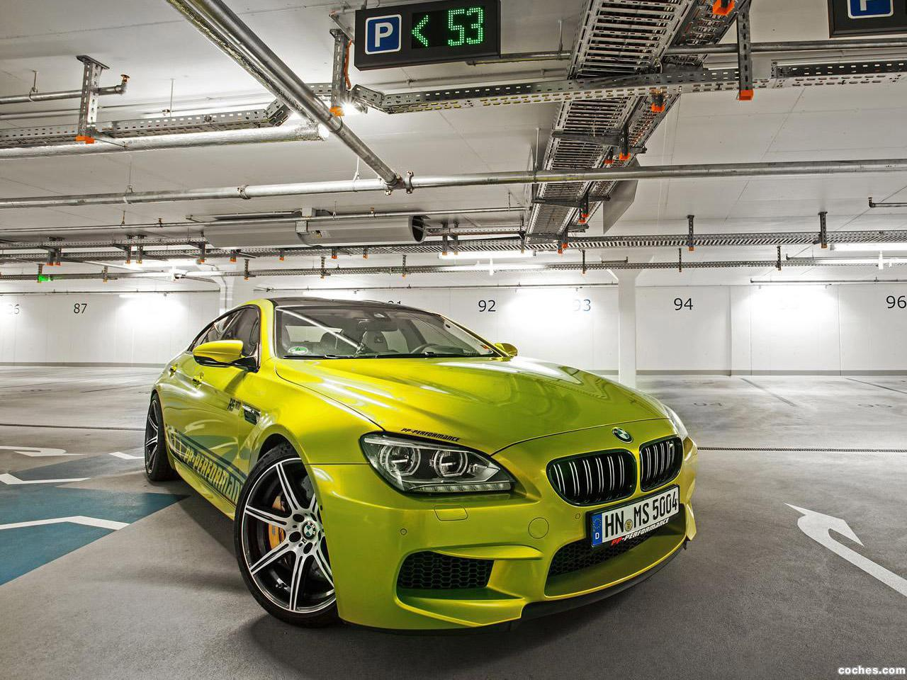 Foto 10 de BMW PP-Performance F06 M6 RS800 Gran Coupe 2014