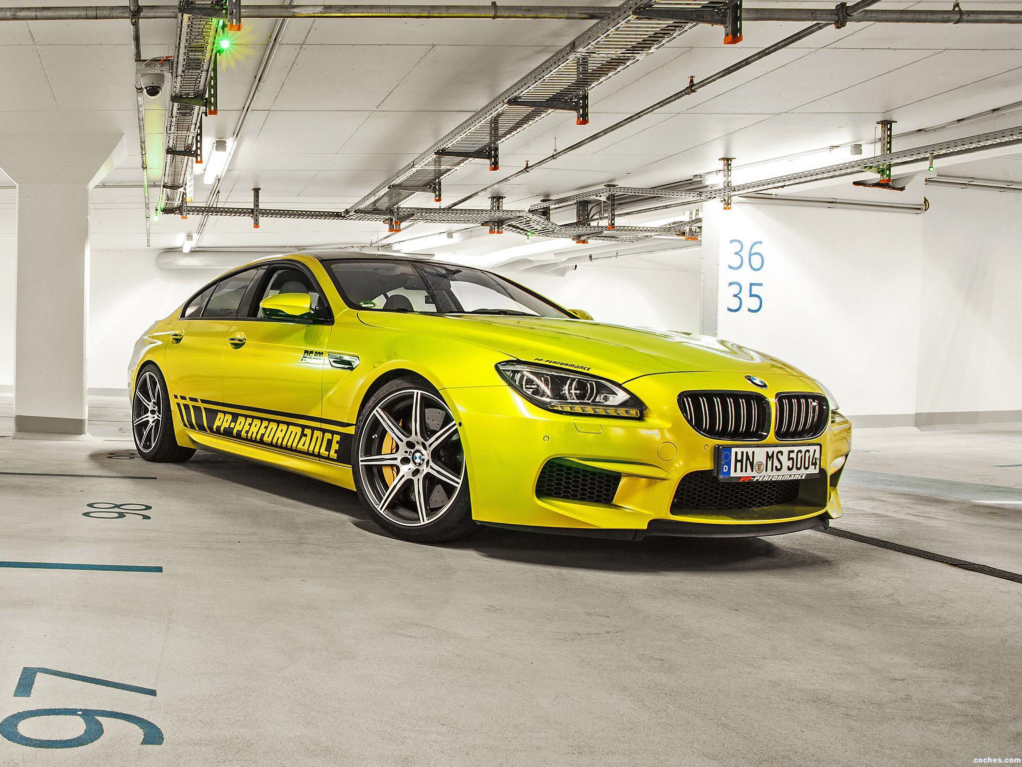 Foto 1 de BMW PP-Performance F06 M6 RS800 Gran Coupe 2014