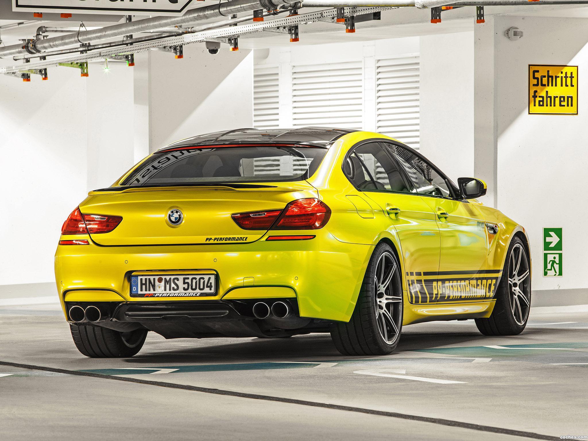 Foto 9 de BMW PP-Performance F06 M6 RS800 Gran Coupe 2014