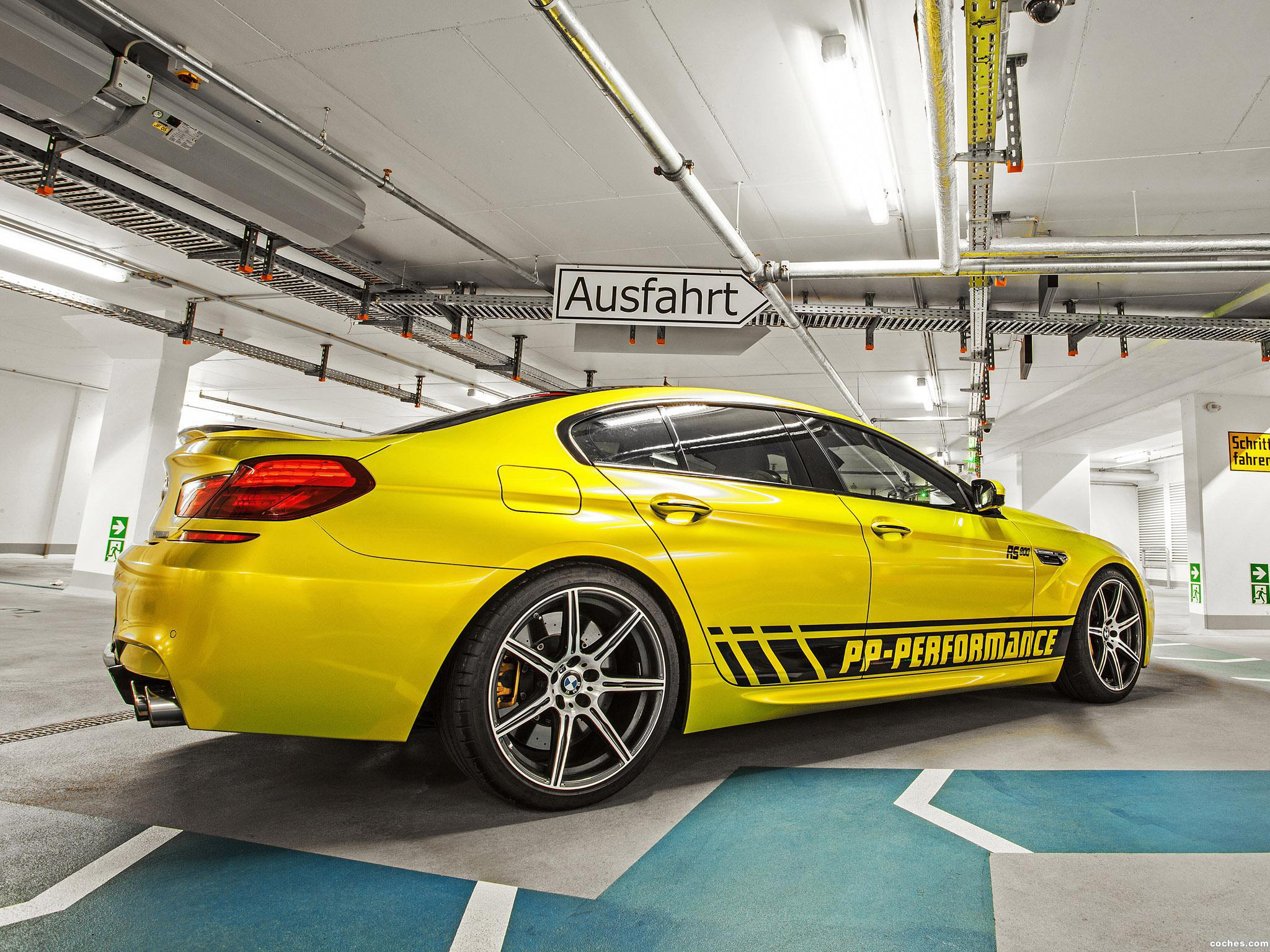 Foto 7 de BMW PP-Performance F06 M6 RS800 Gran Coupe 2014
