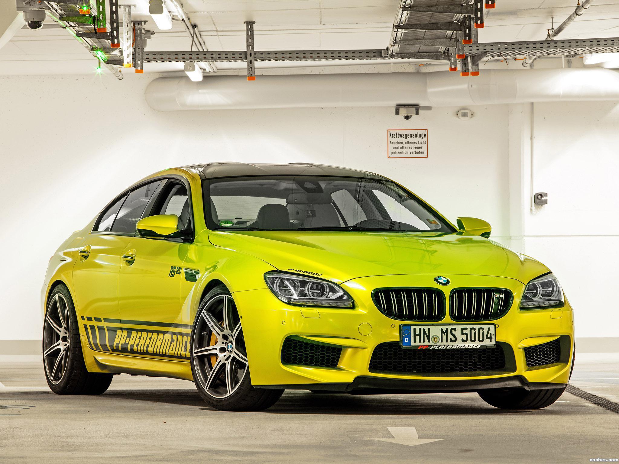 Foto 5 de BMW PP-Performance F06 M6 RS800 Gran Coupe 2014