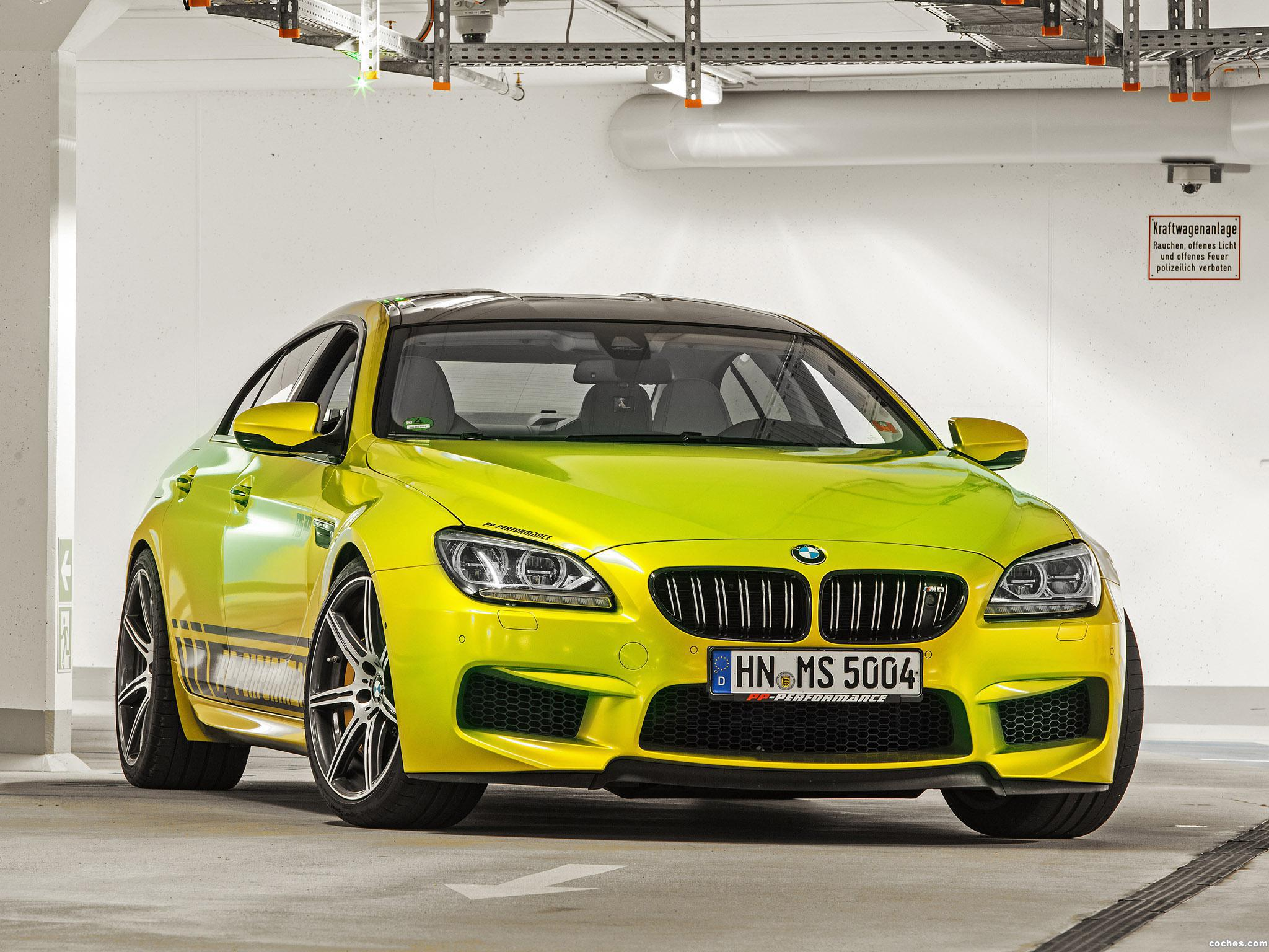 Foto 4 de BMW PP-Performance F06 M6 RS800 Gran Coupe 2014