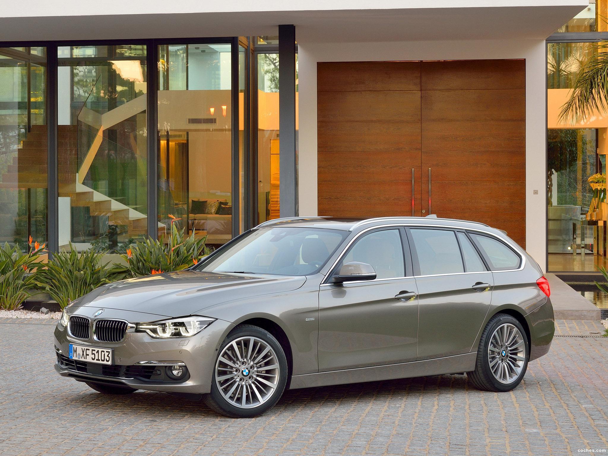 Foto 0 de BMW Serie 3 330d Touring Luxury Line F31 2015