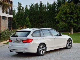 Ver foto 9 de BMW Serie 3 Touring 320d EfficientDynamics E Sport 2015