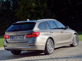 Ver foto 9 de BMW Serie 3 330d Touring Luxury Line F31 2015
