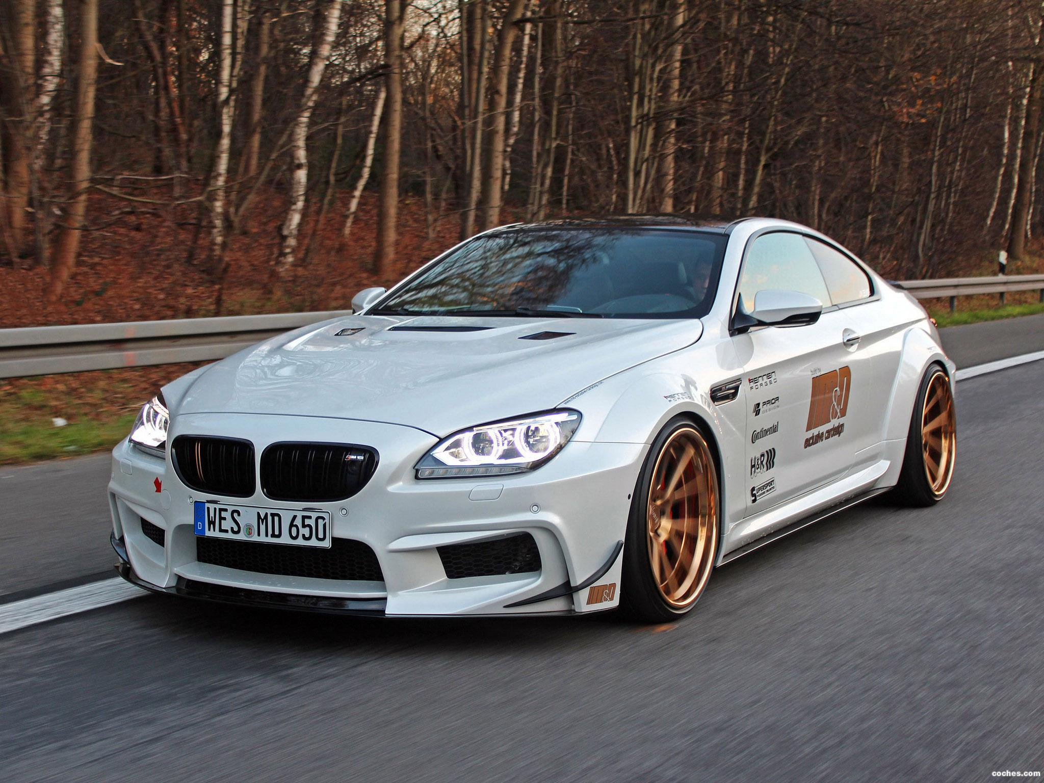 Foto 0 de BMW Serie 6 650i Coupe M & D Exclusive Cardesign F13 2014