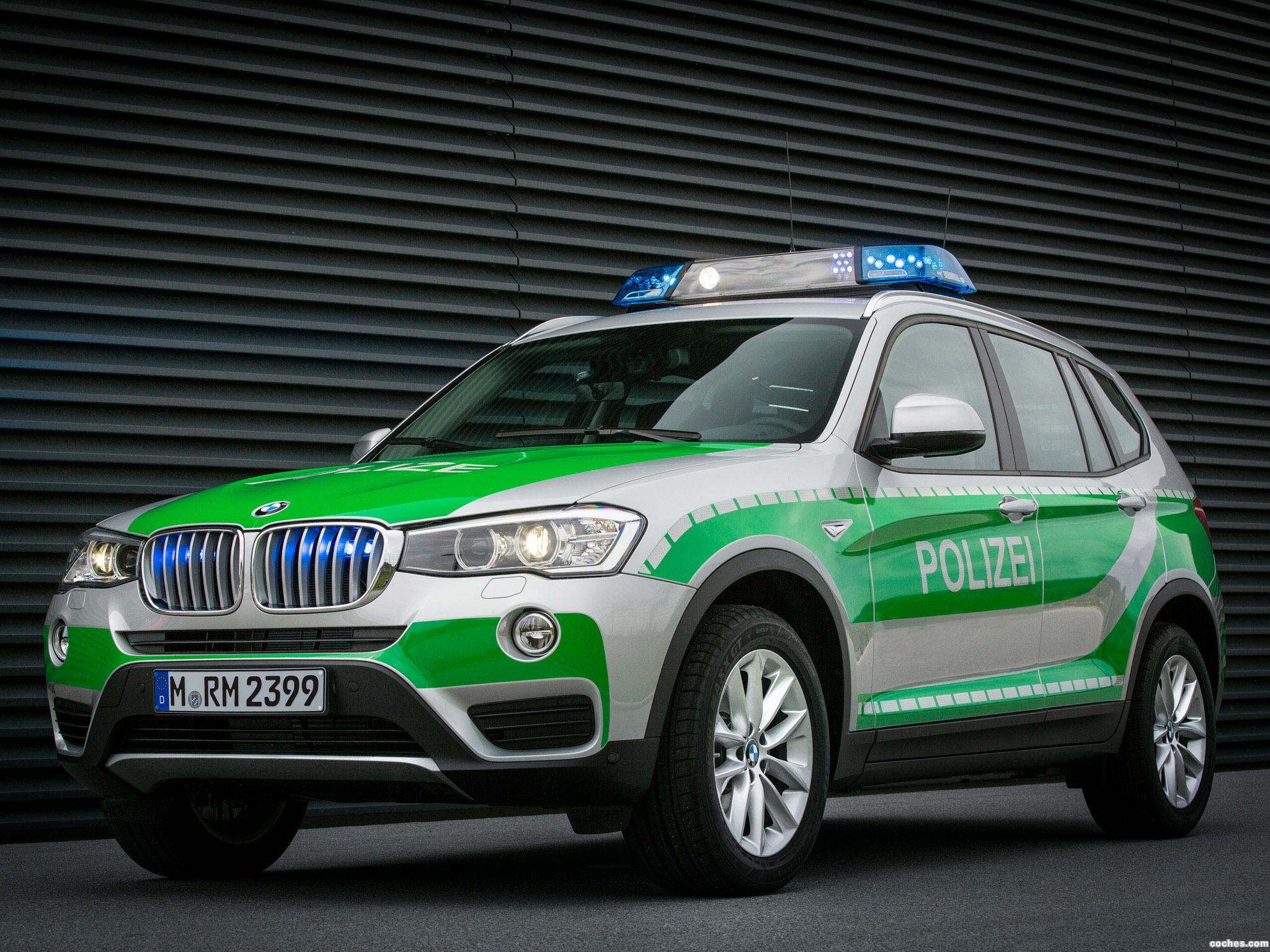 Foto 1 de BMW X3 Polizei F25 2014