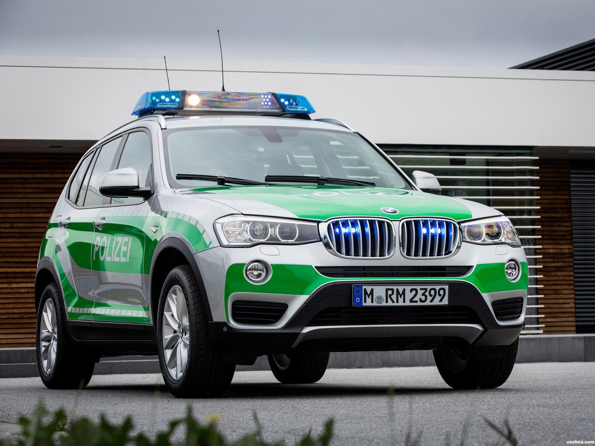 Foto 0 de BMW X3 Polizei F25 2014