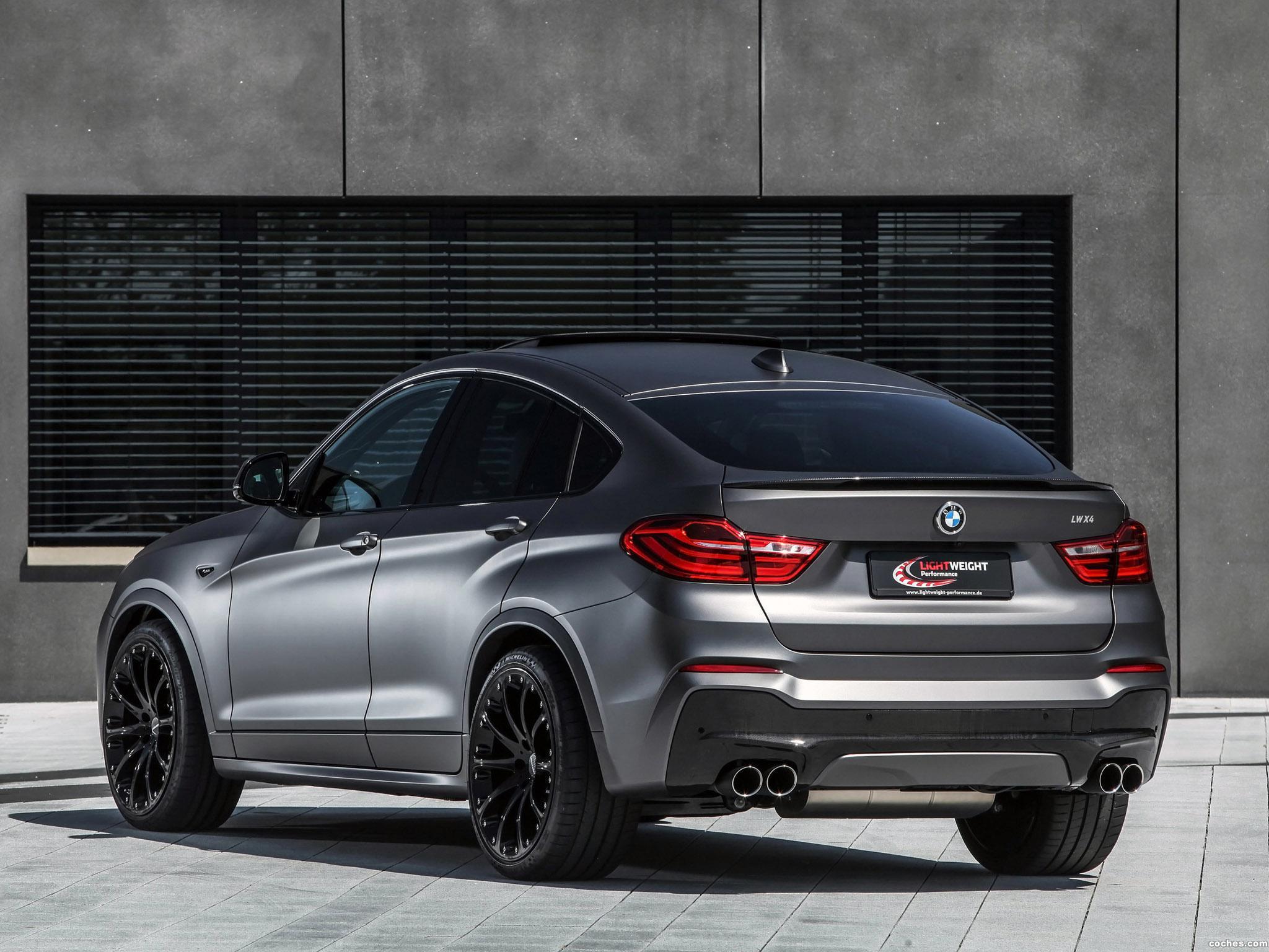 Foto 6 de BMW X4 Lightweight Performance F26 2015