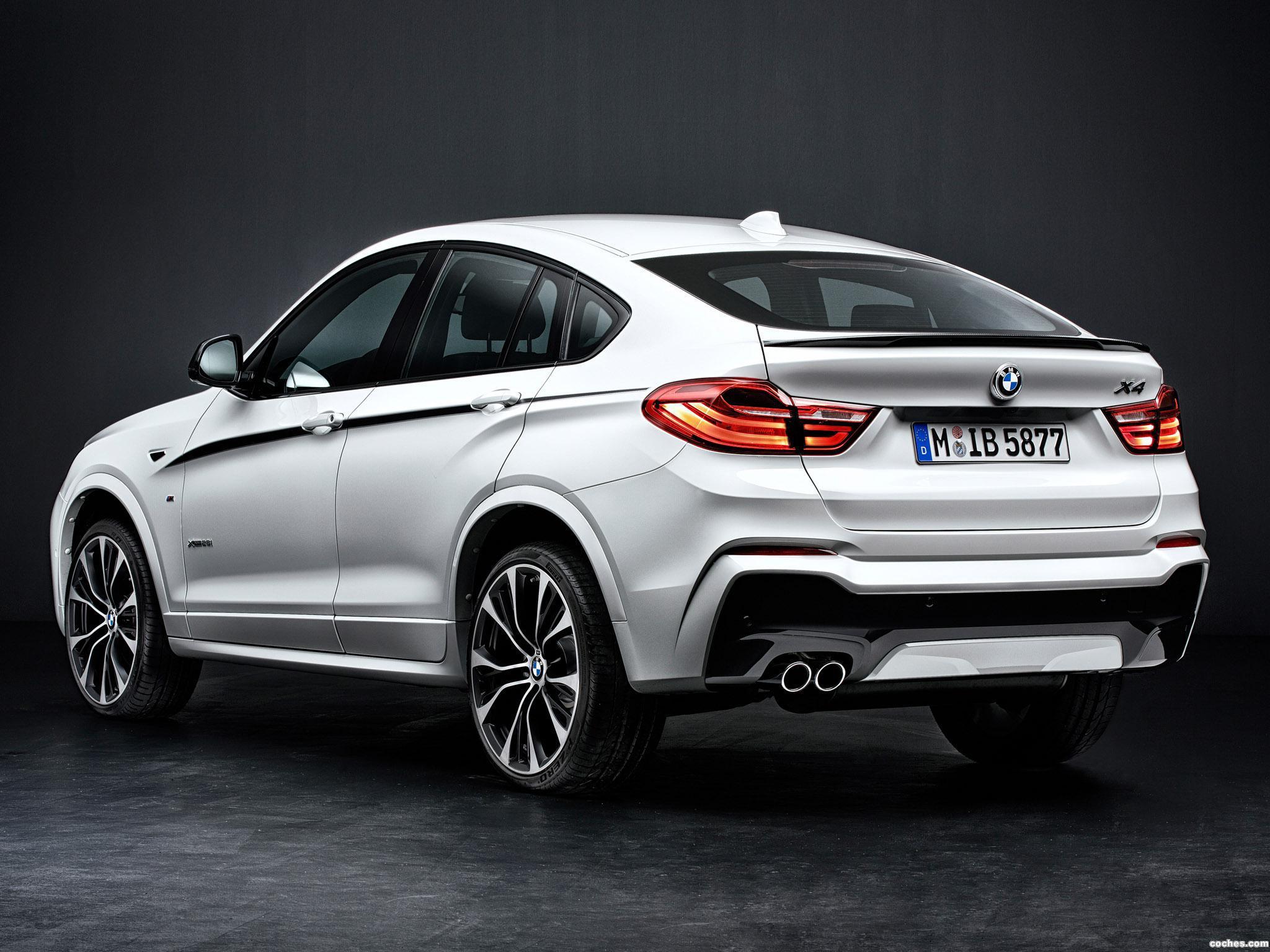 Foto 1 de BMW X4 xDrive28i M Performance Accessories F26 2014
