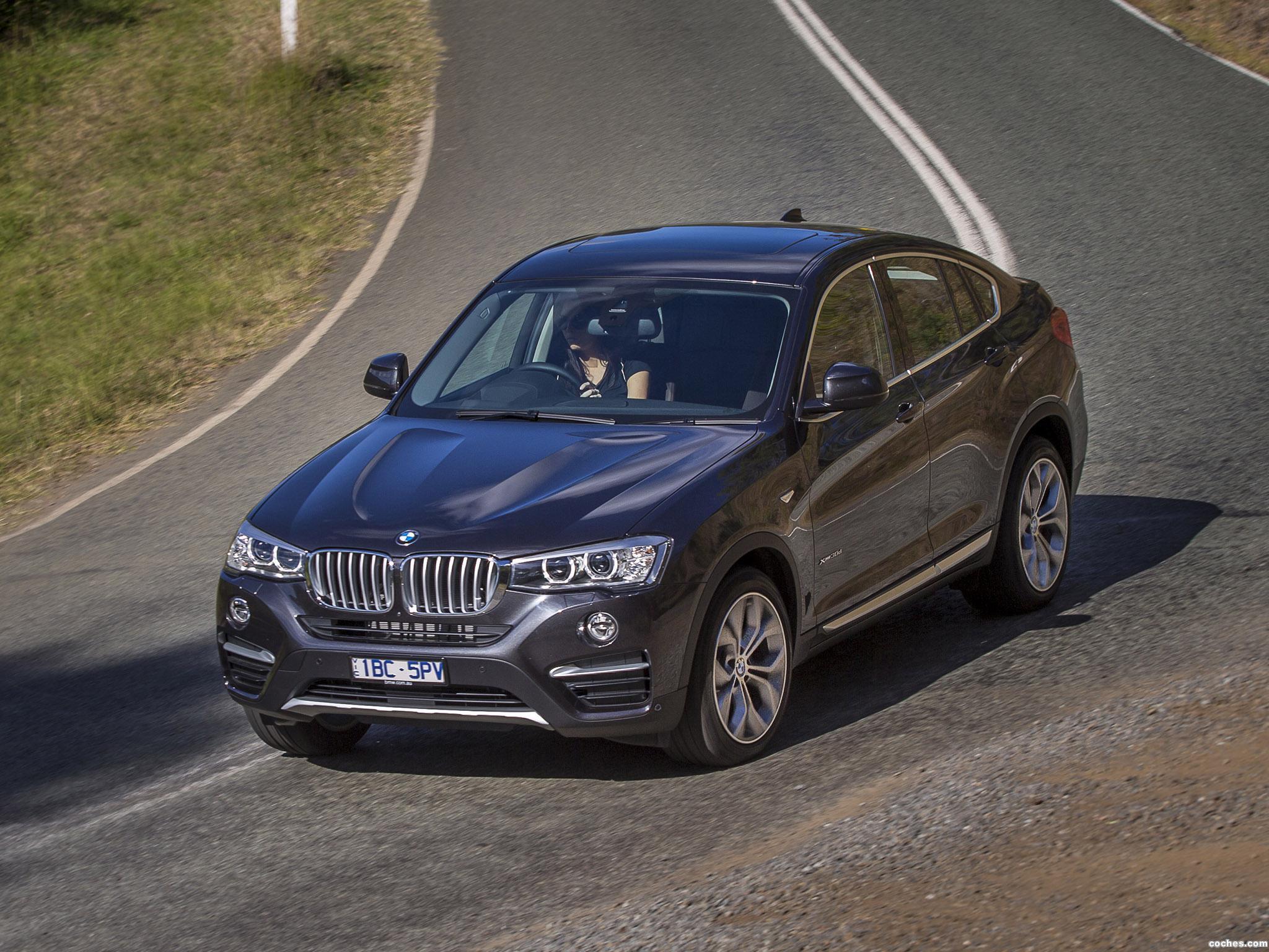 Foto 0 de BMW X4 xDrive30d F26 Australia 2014