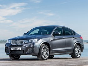 Fotos de BMW X4 xDrive30d M Sports Package F26 UK  2014