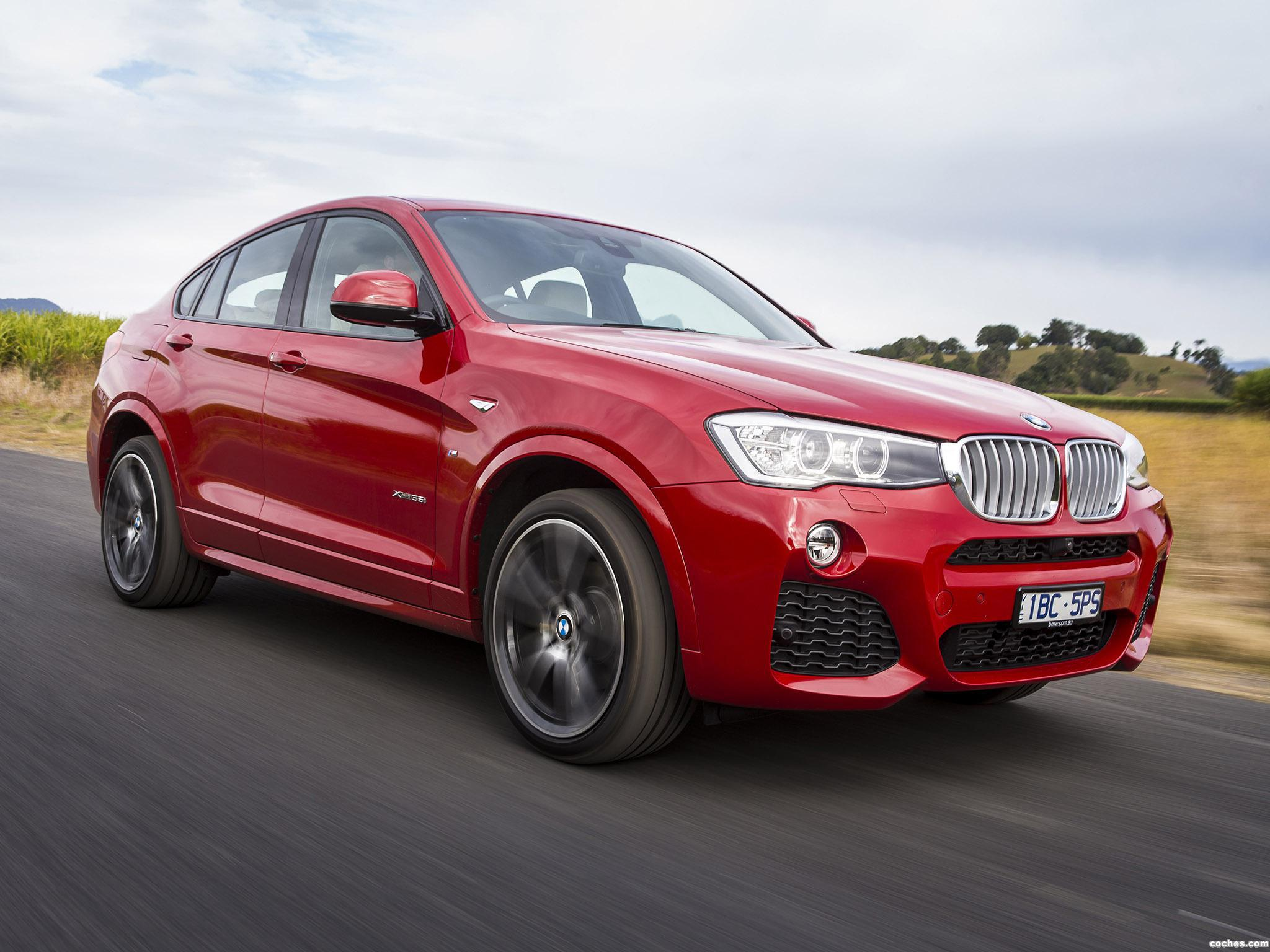 Foto 6 de BMW X4 xDrive35i M Sports Package Australia  2014