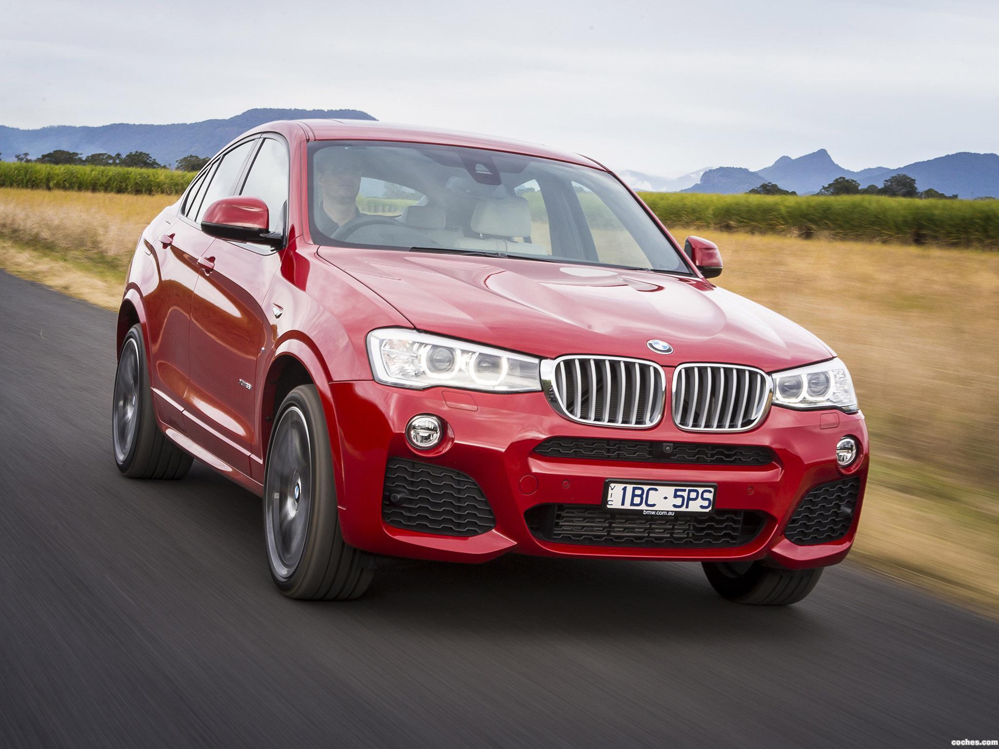 Foto 1 de BMW X4 xDrive35i M Sports Package Australia  2014