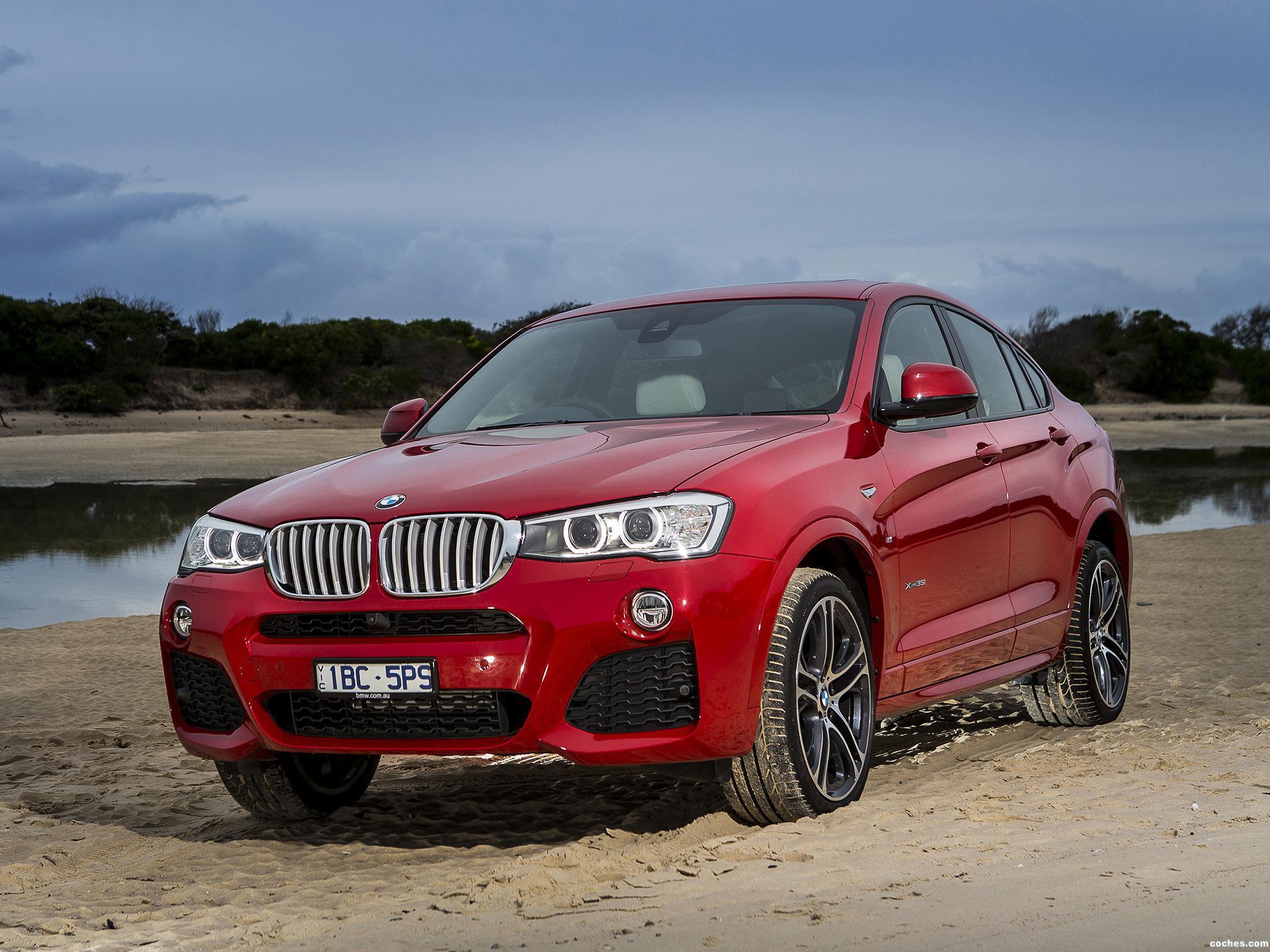 Foto 0 de BMW X4 xDrive35i M Sports Package Australia  2014