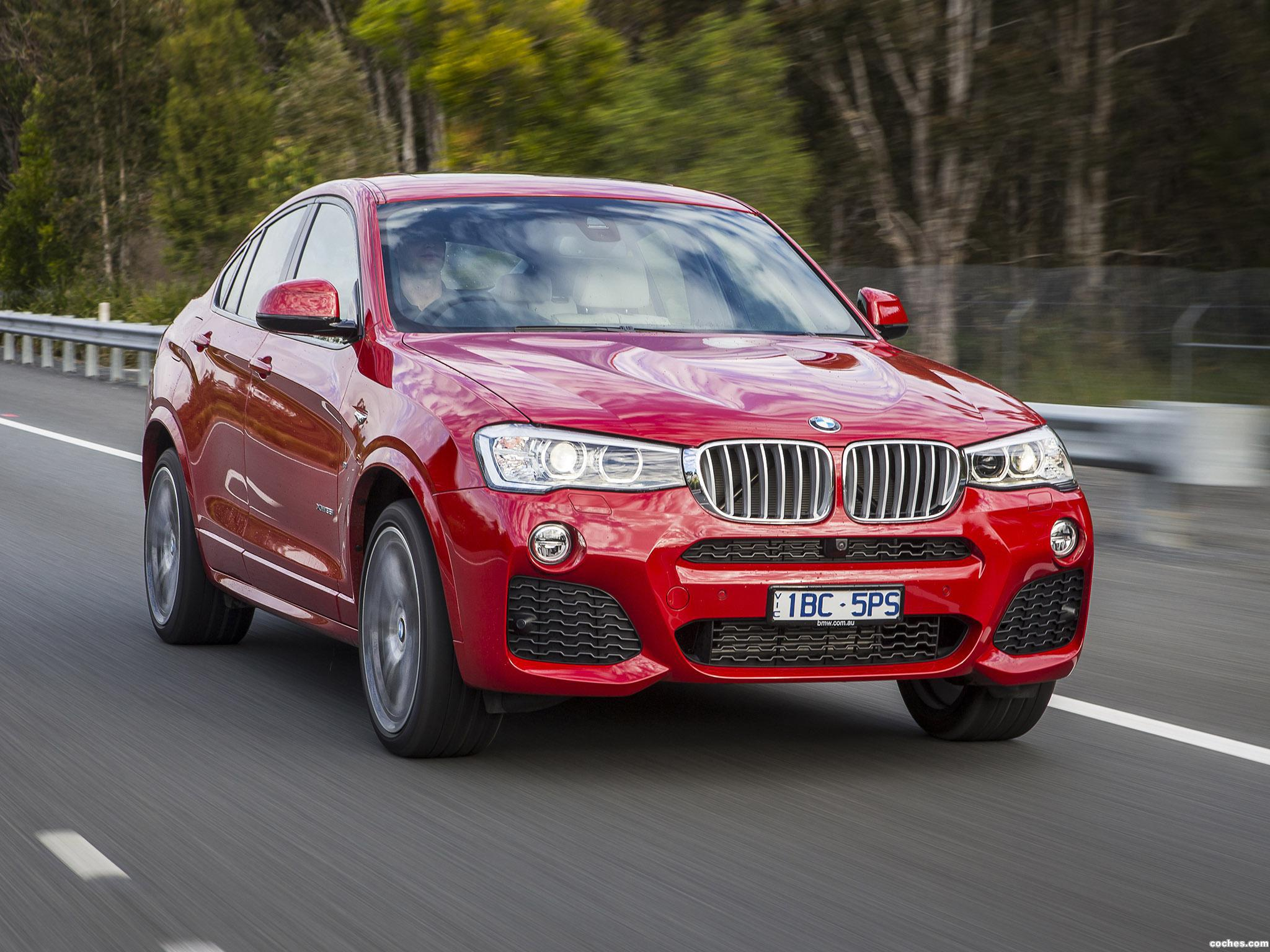 Foto 15 de BMW X4 xDrive35i M Sports Package Australia  2014