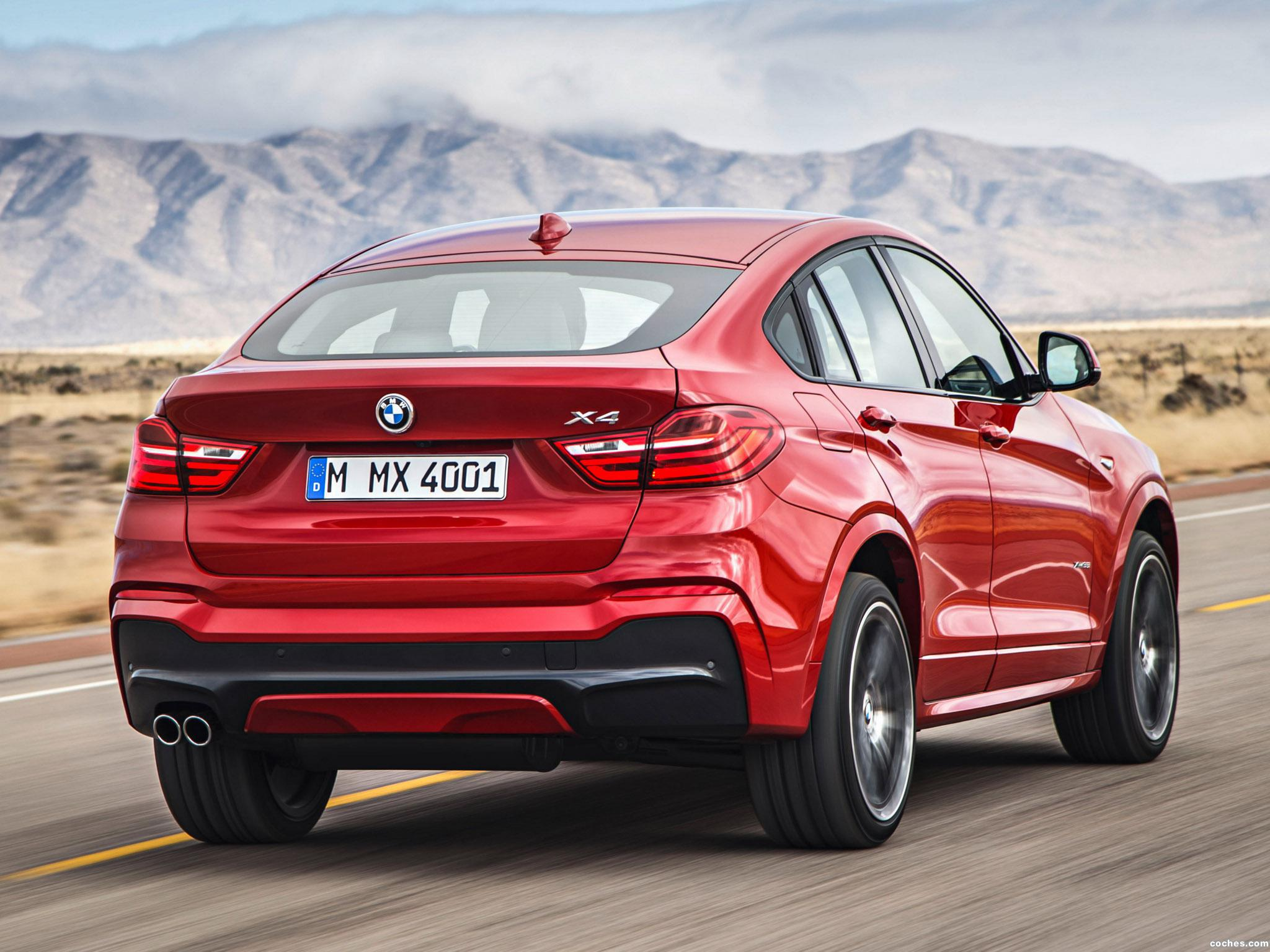 Foto 14 de BMW X4 M Sports Package F26 2014