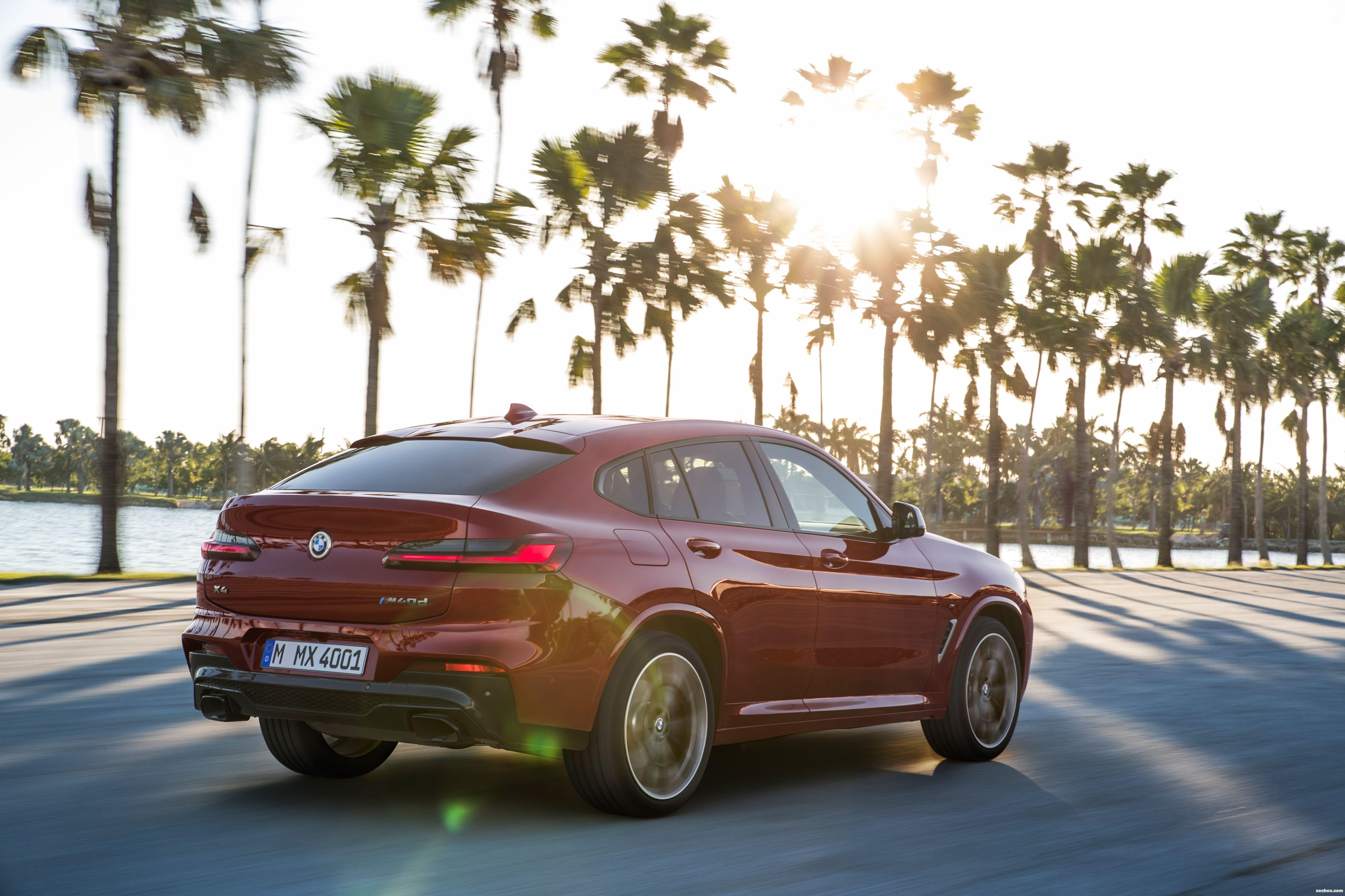 Foto 18 de BMW X4 M40d 2018