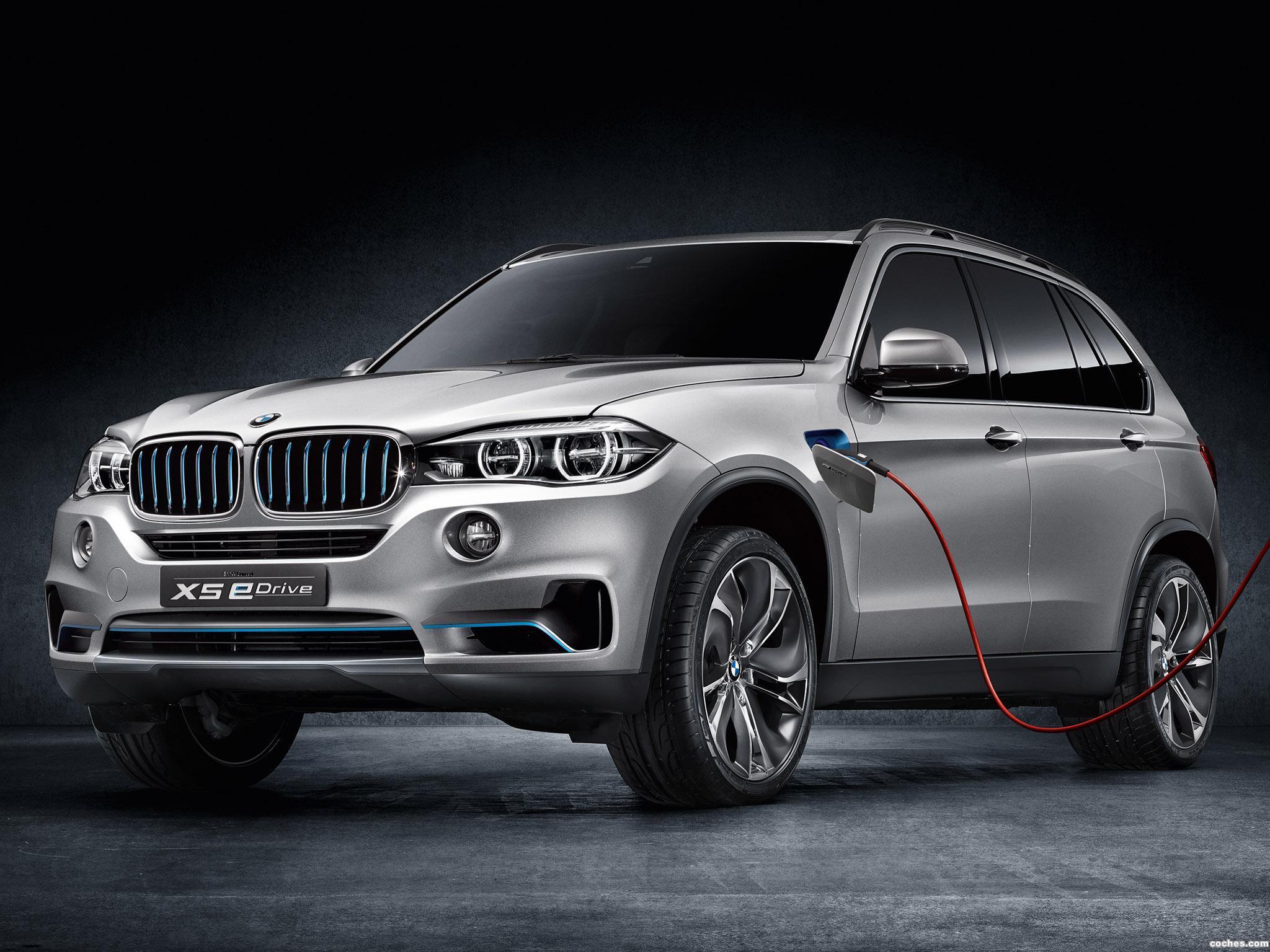 Foto 0 de BMW X5 eDrive Concept 2013