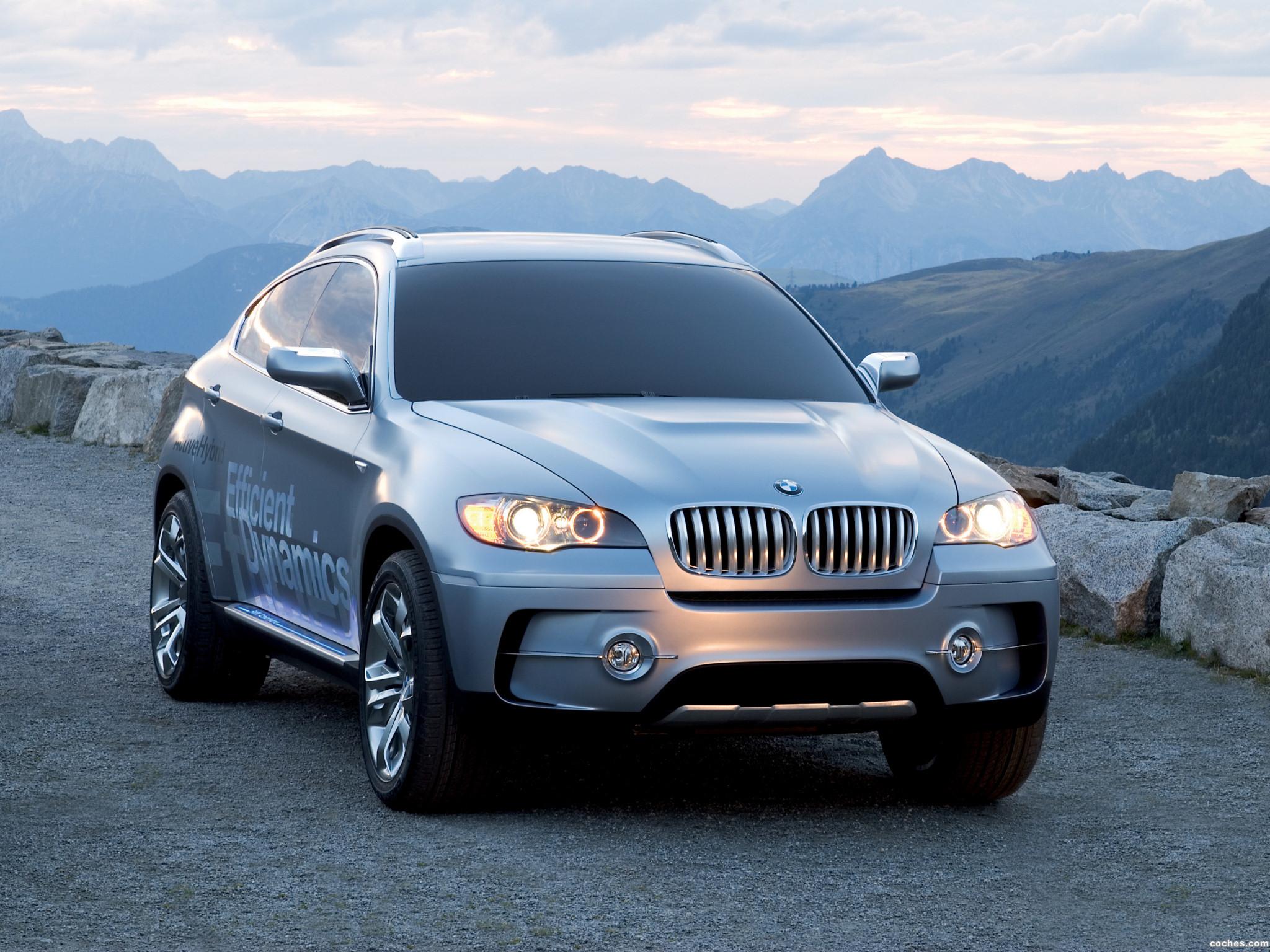Foto 0 de BMW X6 ActiveHybrid Concept 2007