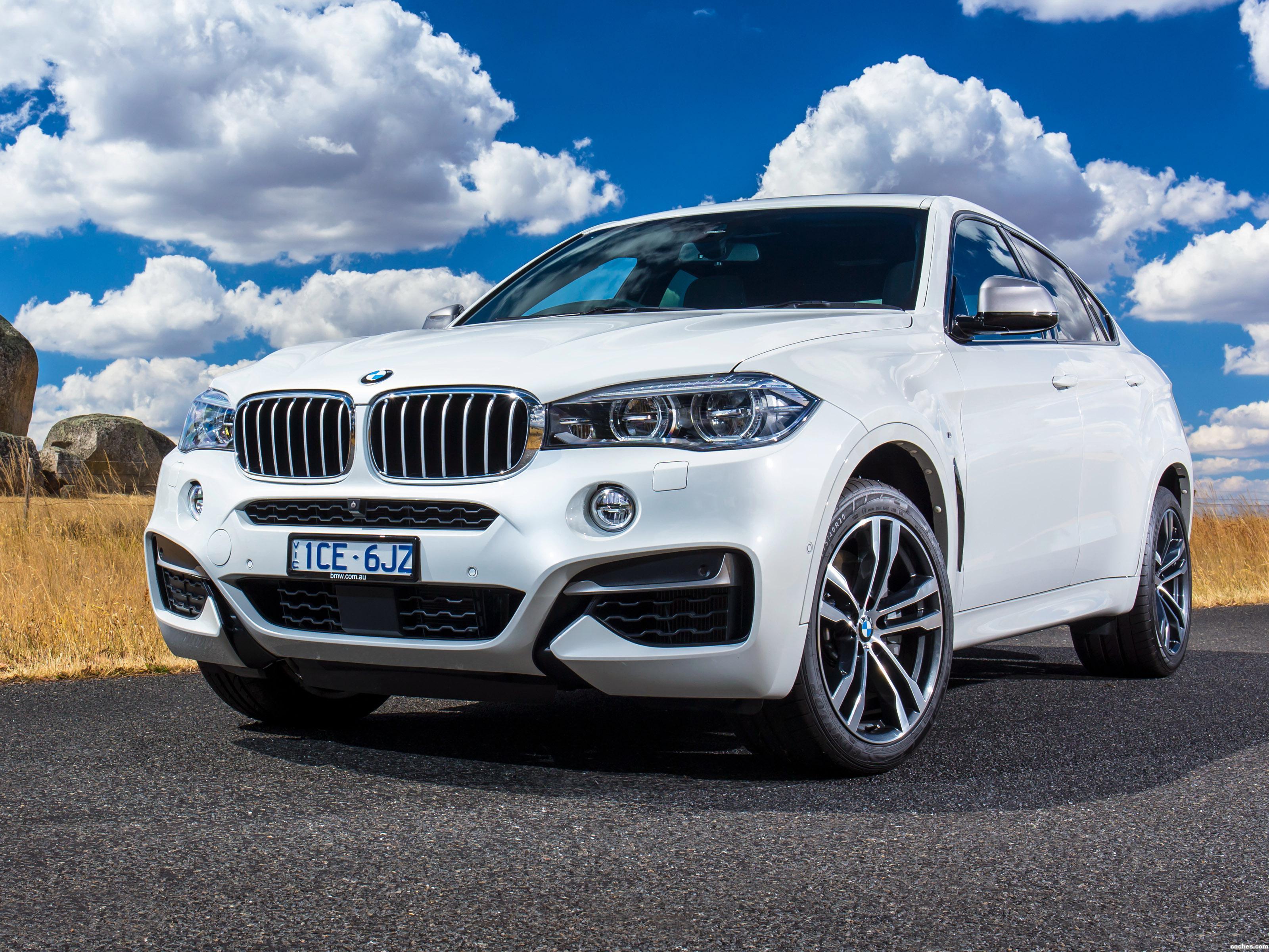 Foto 0 de BMW X6 M50d F16 Australia 2015