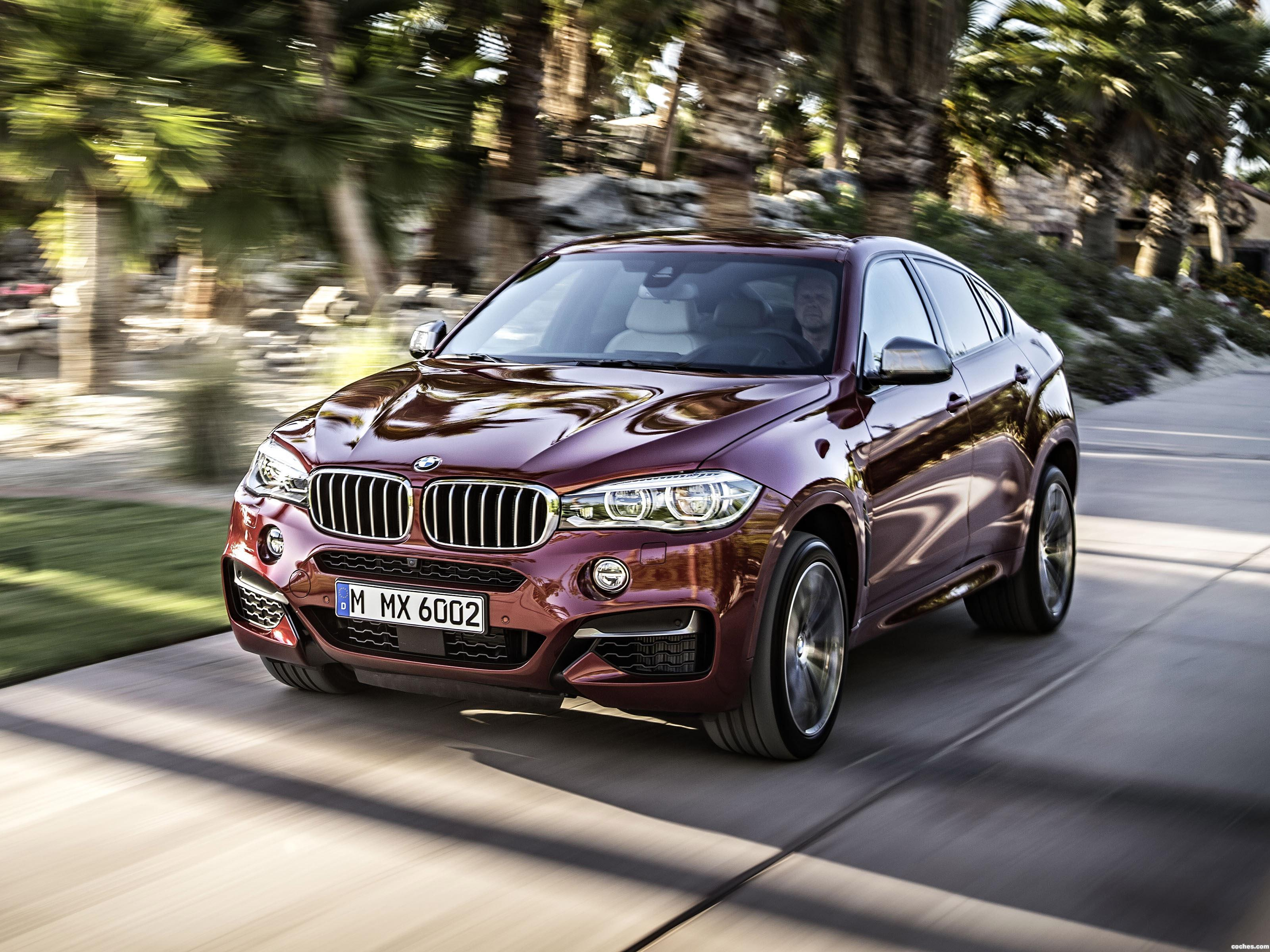 fotos de bmw x6 m50d f16 2014 foto 3. Black Bedroom Furniture Sets. Home Design Ideas