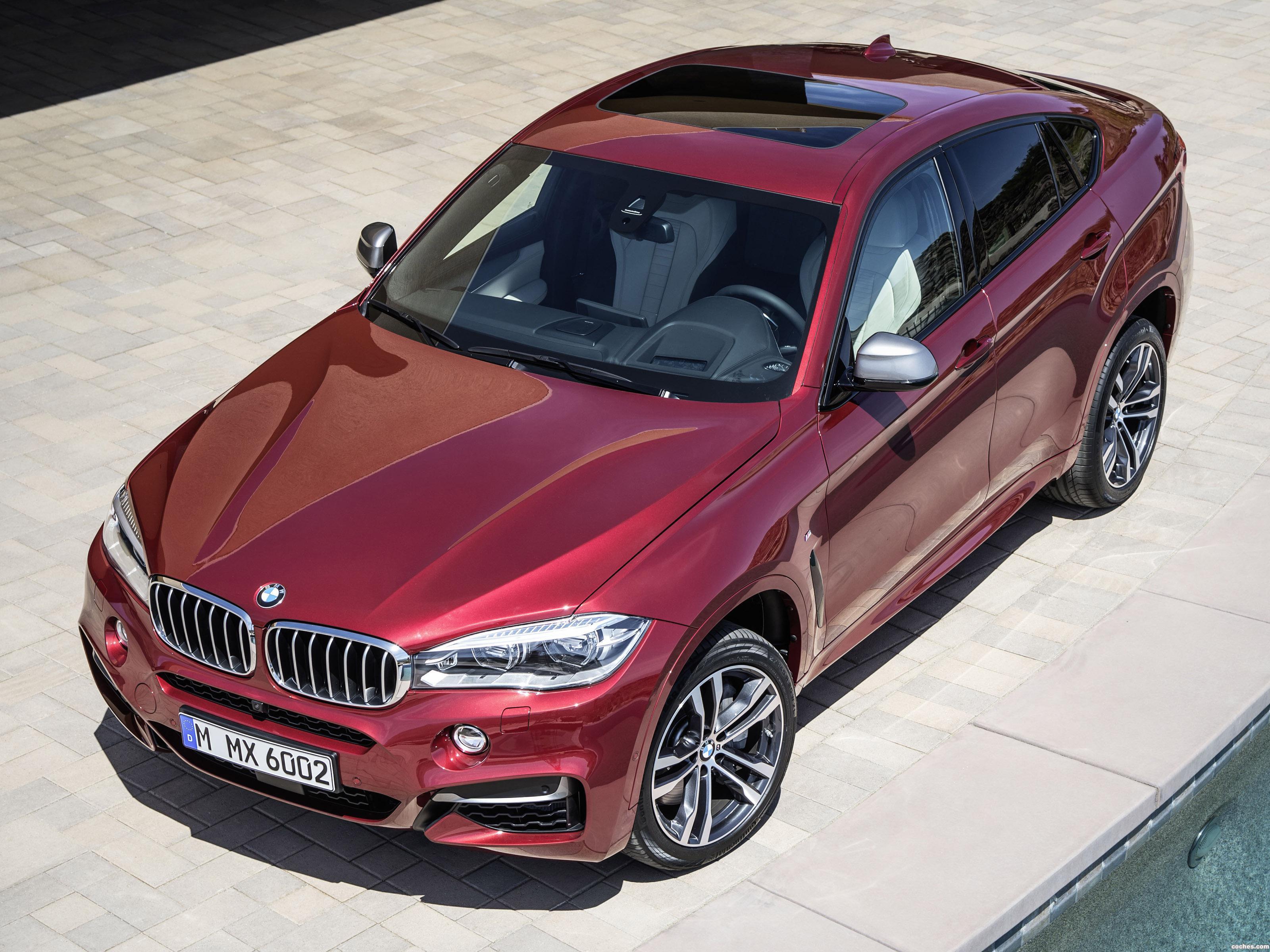 Foto 0 de BMW X6 M50d F16 2014