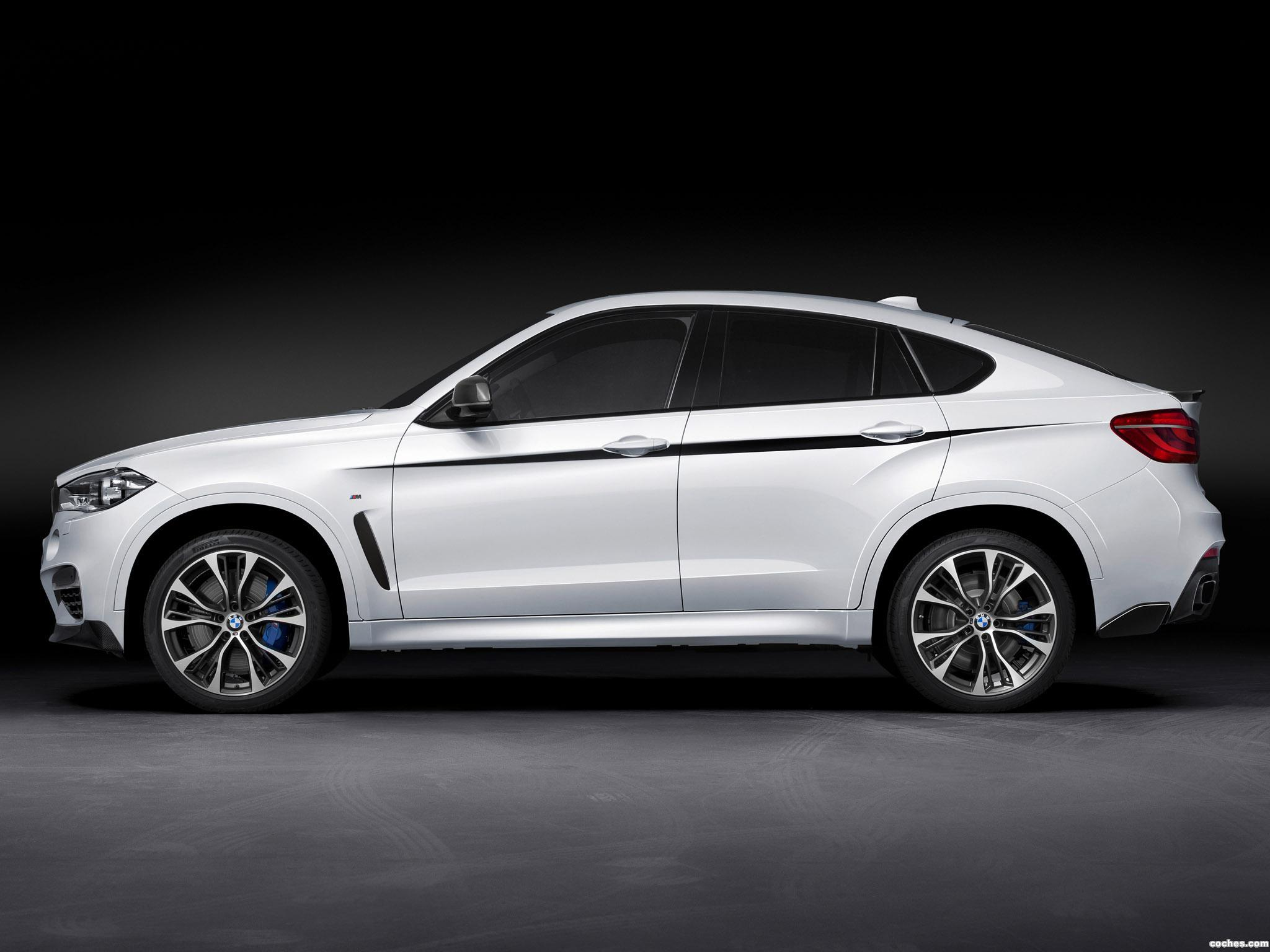 Foto 3 de BMW X6 M50d M Performance Accessories F16 2014
