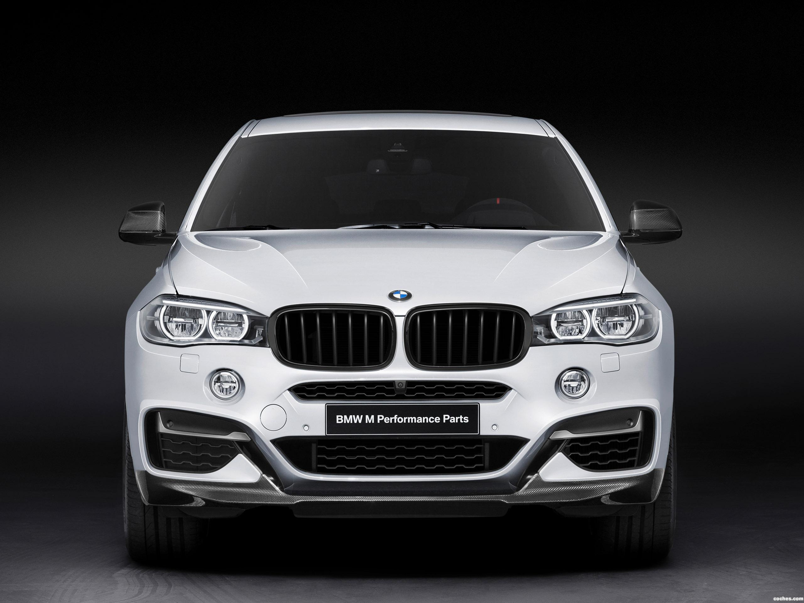 Foto 0 de BMW X6 M50d M Performance Accessories F16 2014