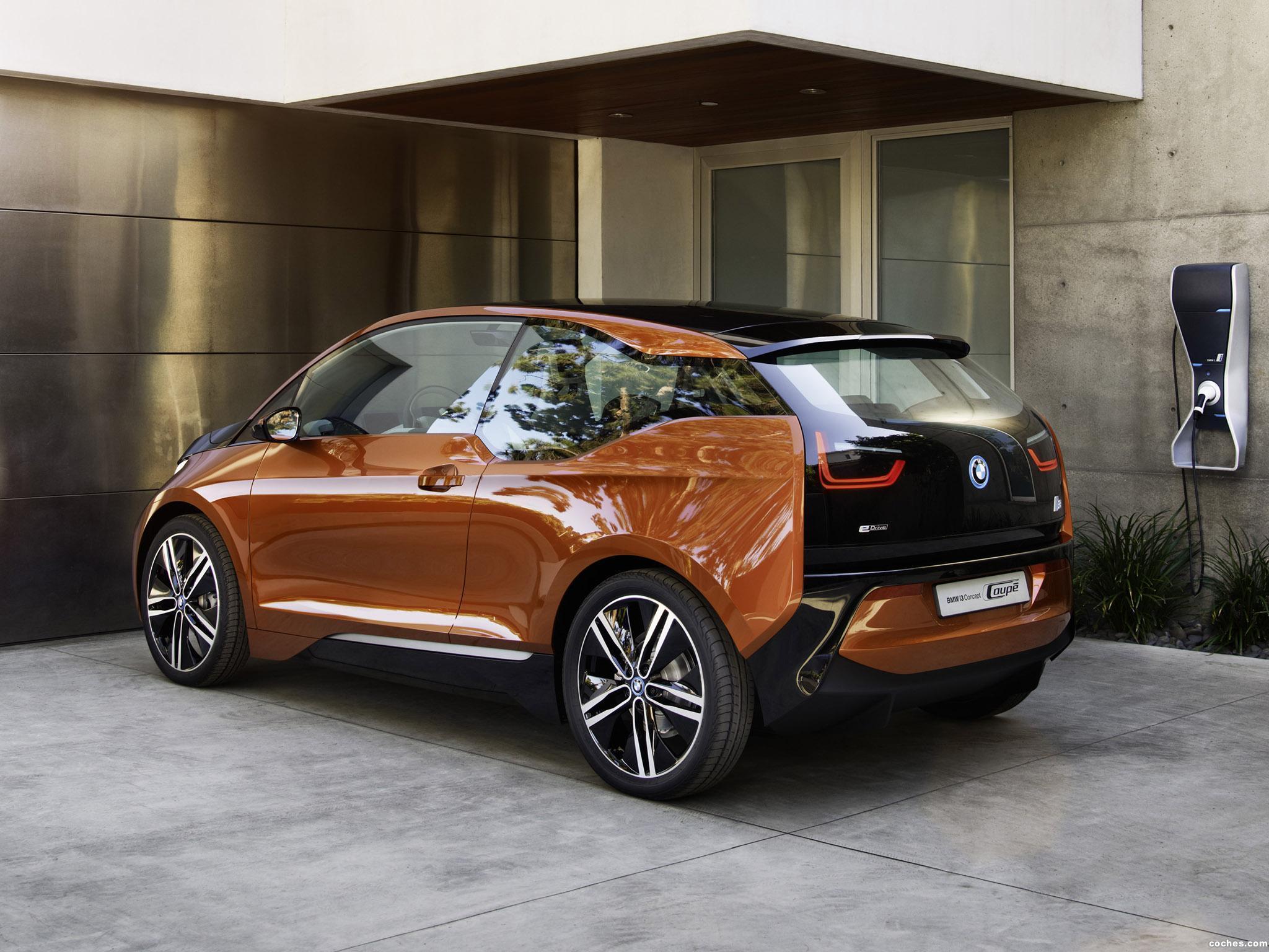 Foto 8 de BMW i3 Coupe Concept 2012