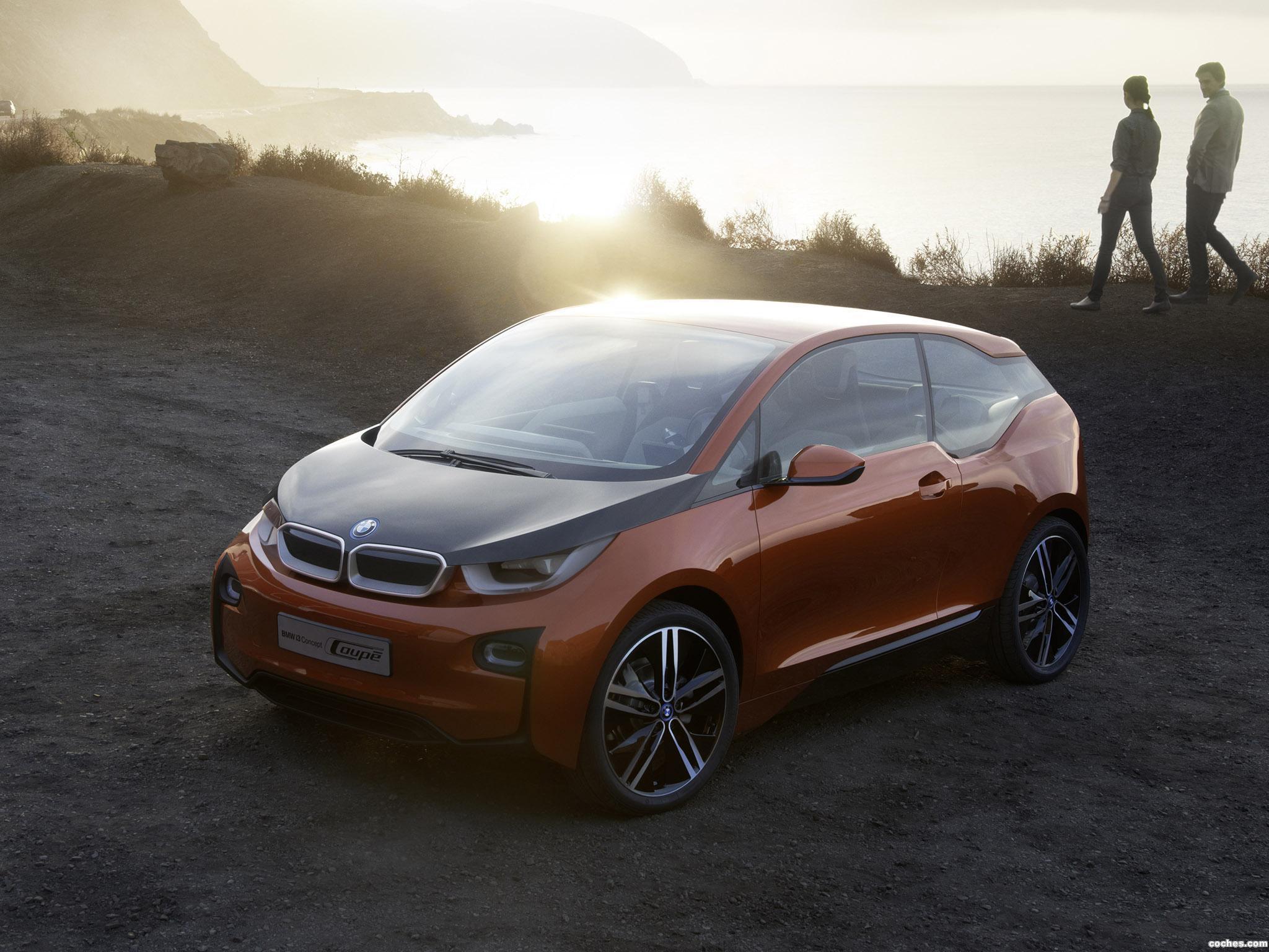 Foto 2 de BMW i3 Coupe Concept 2012