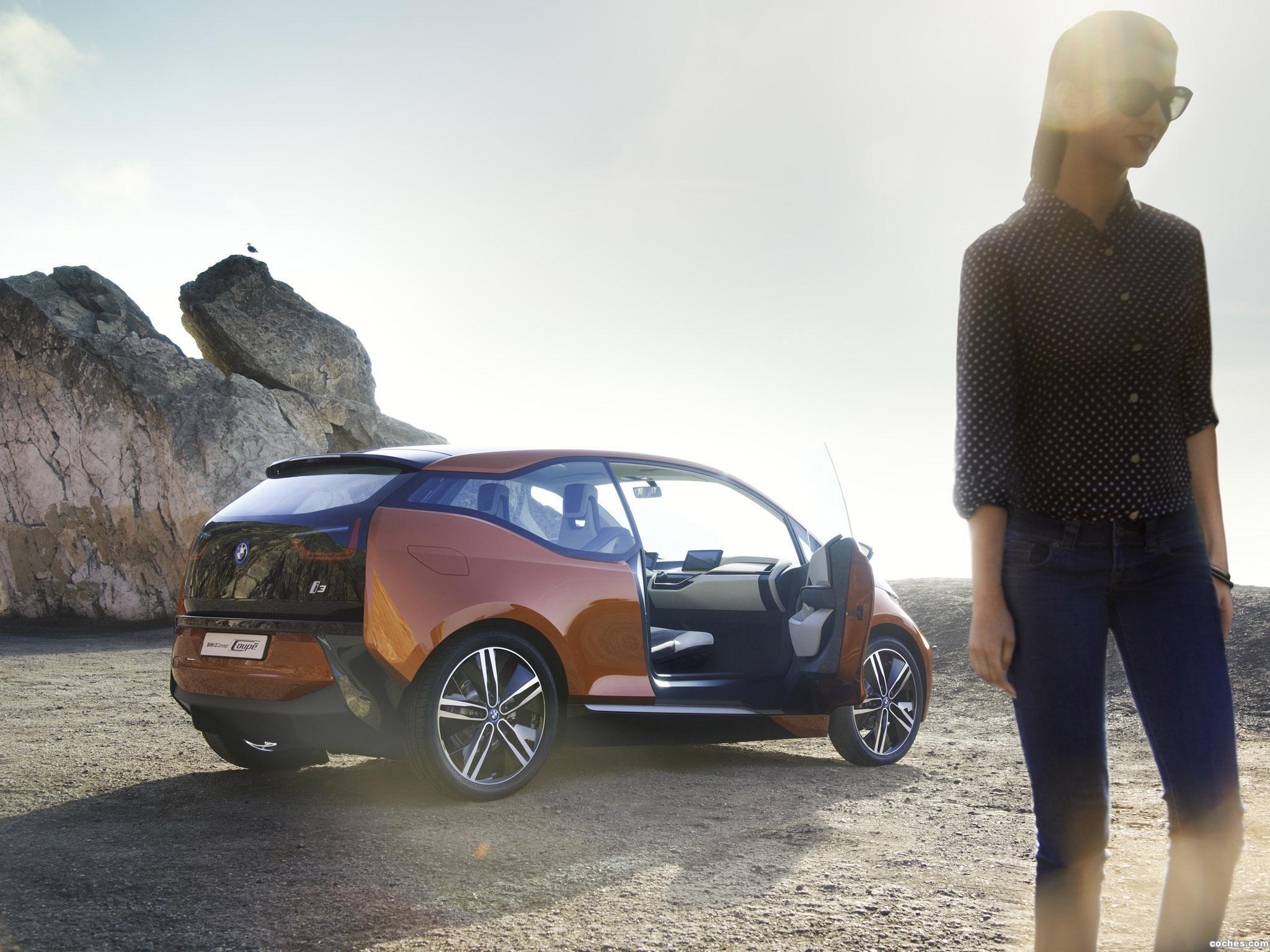 Foto 1 de BMW i3 Coupe Concept 2012