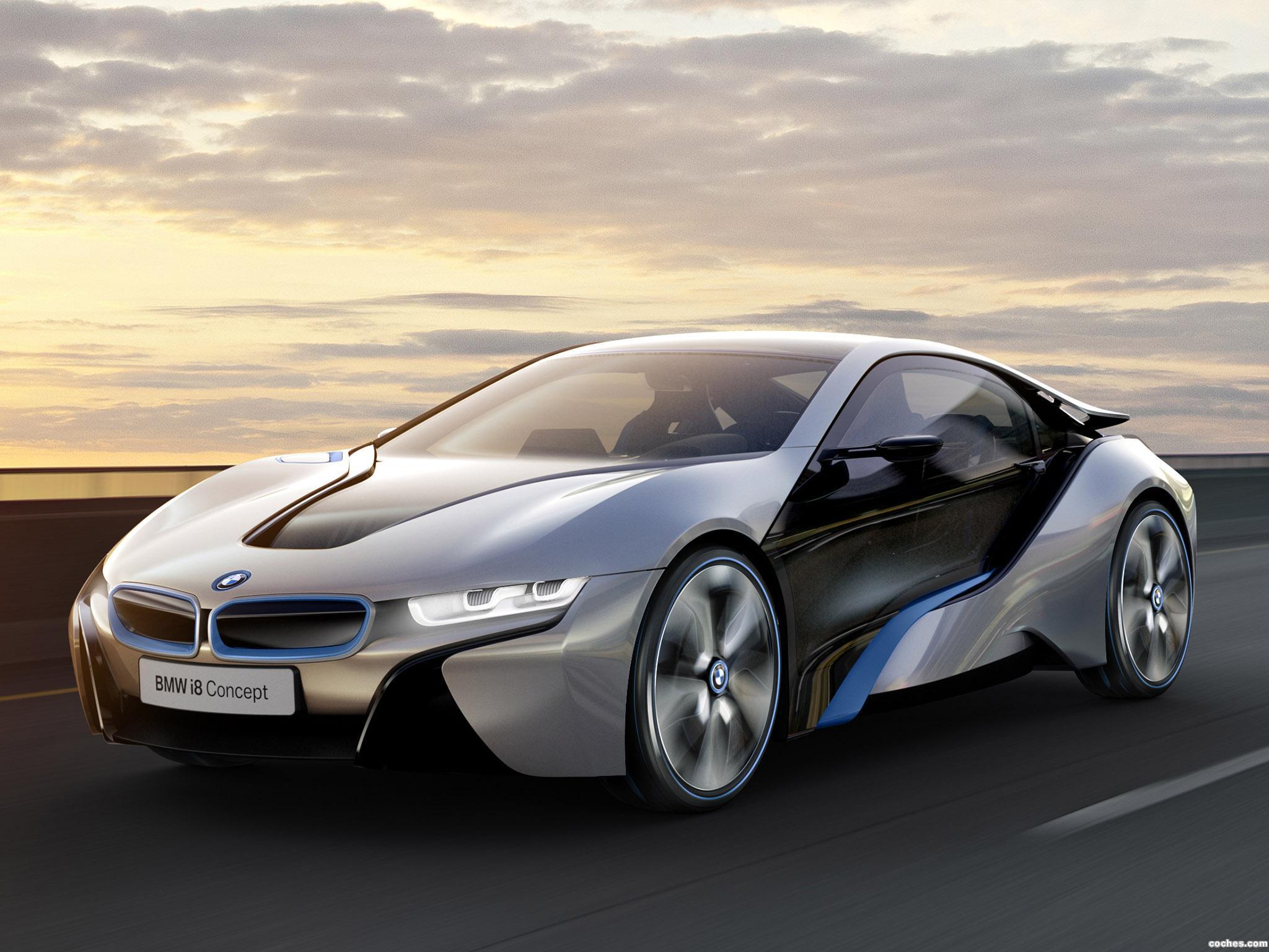 Foto 0 de BMW i8 Concept 2011