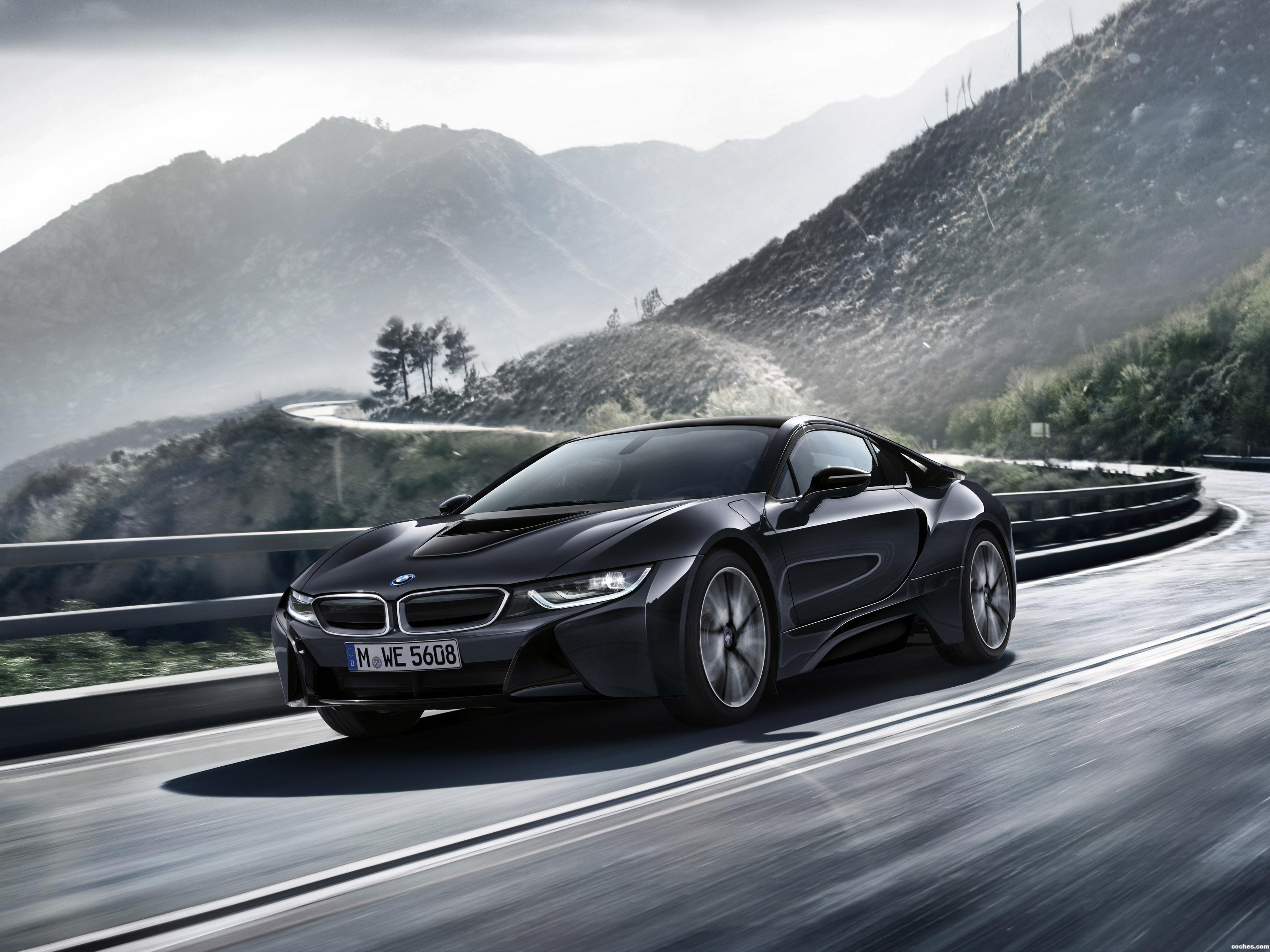 Foto 0 de BMW i8 Protonic Dark Silver Edition 2016