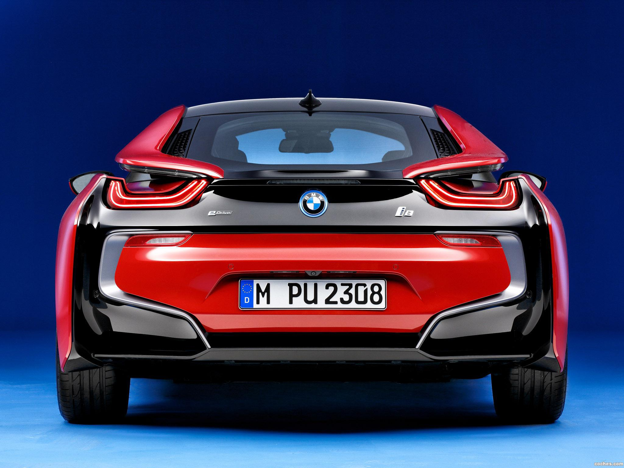Foto 3 de BMW i8 Protonic Red Edition 2016