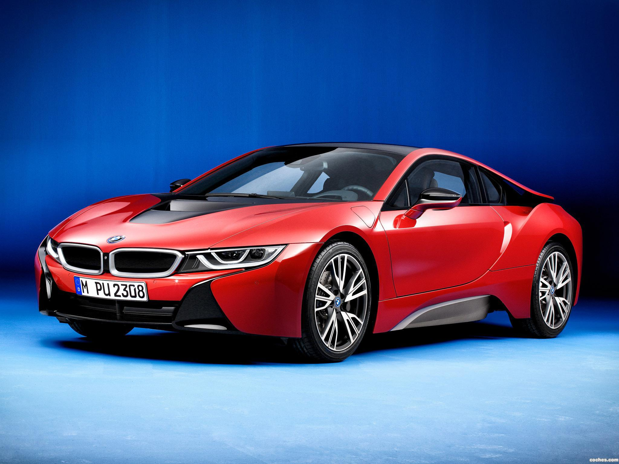 Foto 1 de BMW i8 Protonic Red Edition 2016