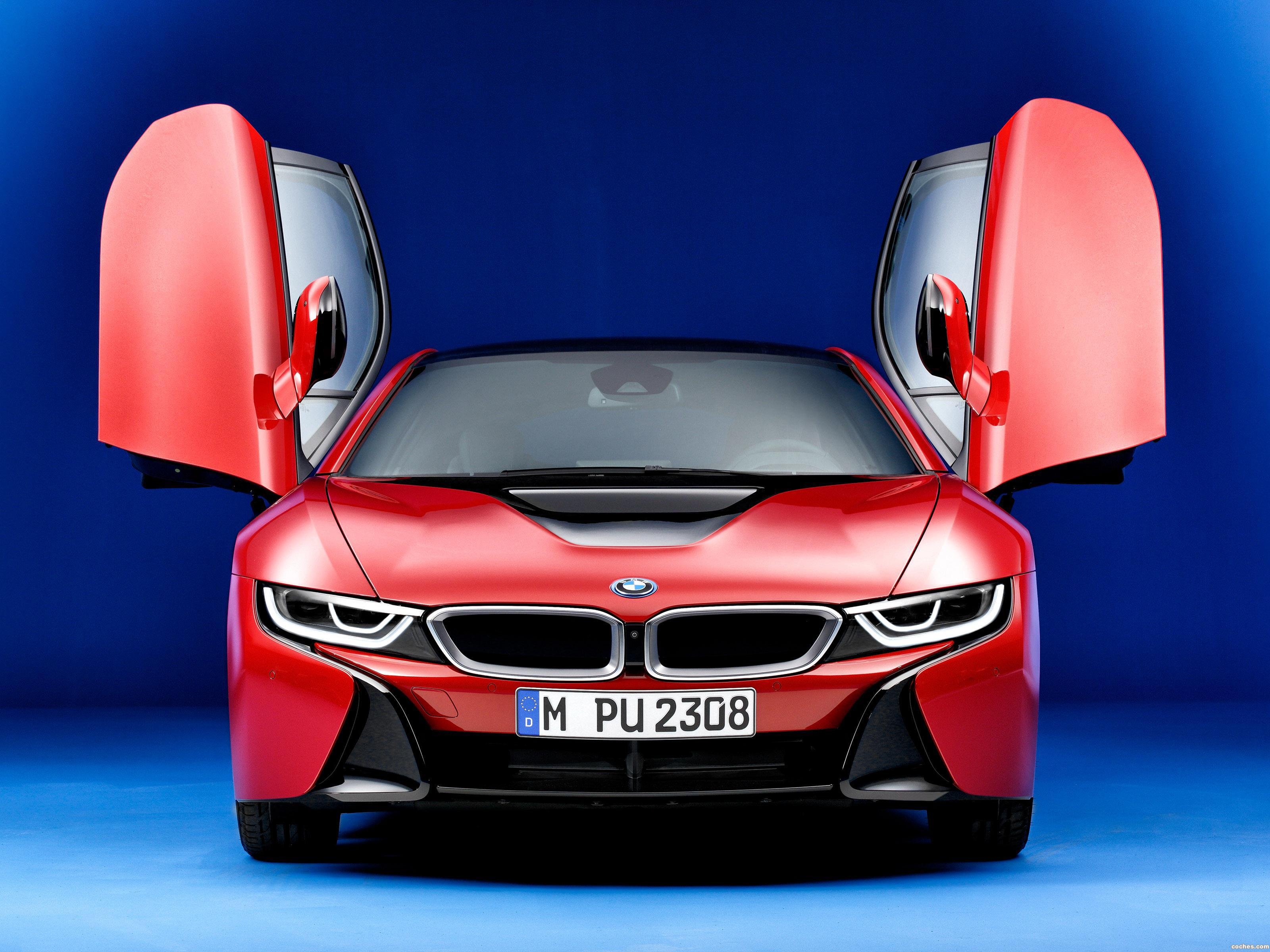 Foto 0 de BMW i8 Protonic Red Edition 2016
