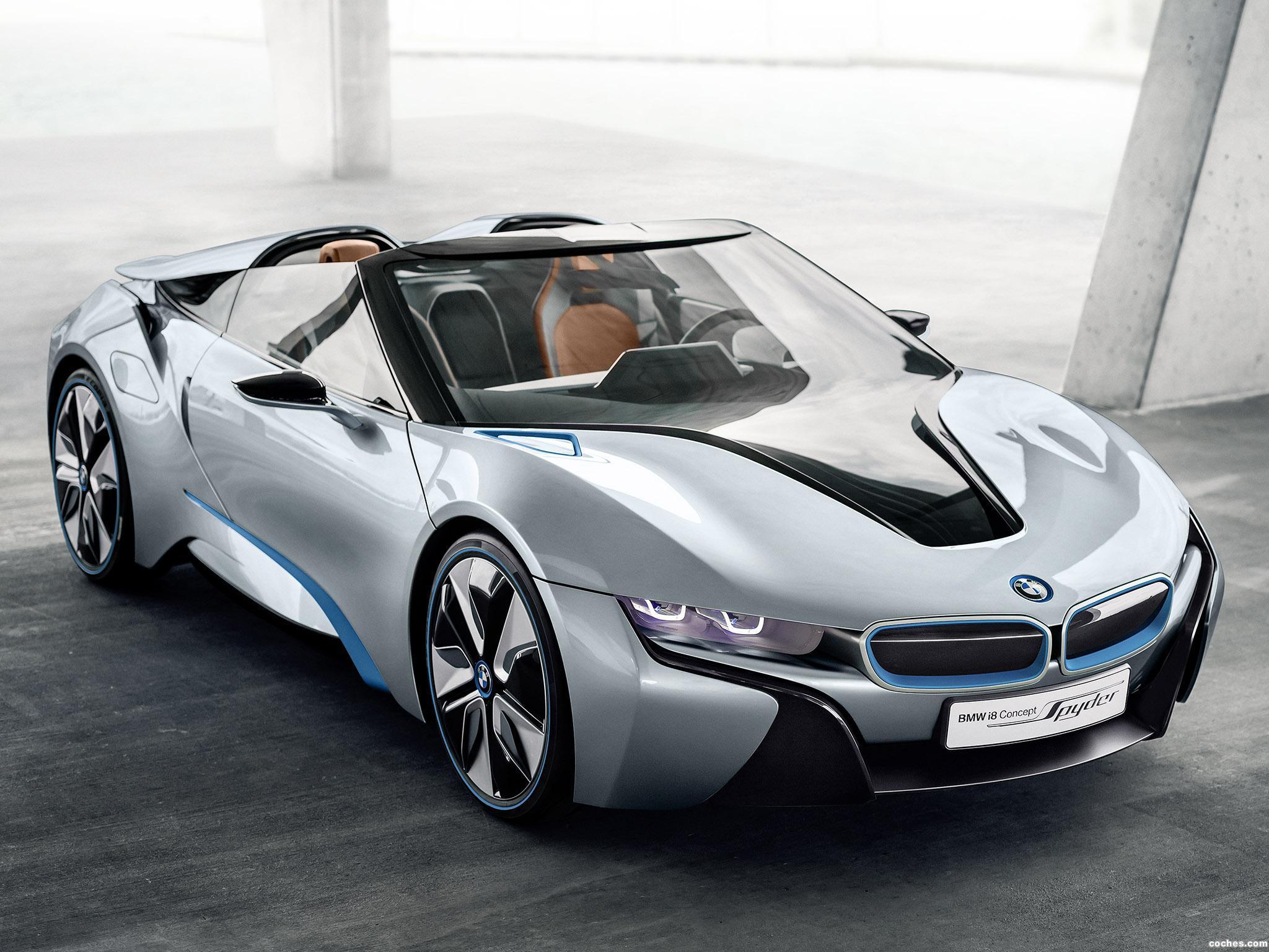 Foto 0 de BMW i8 Spyder Concept 2012
