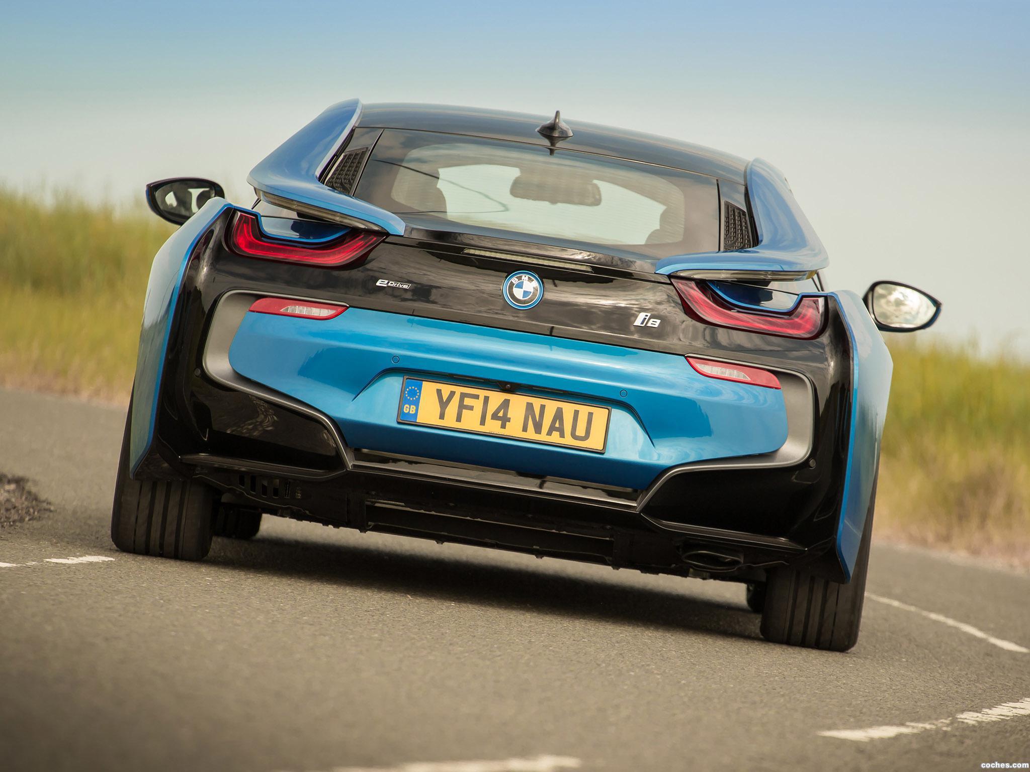 Foto 10 de BMW i8 UK 2014