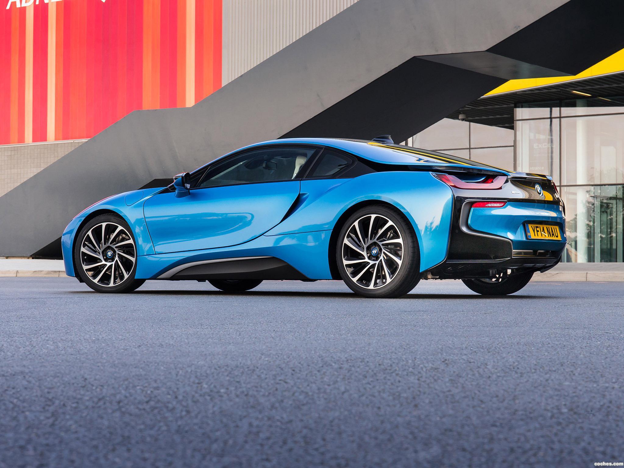 Foto 9 de BMW i8 UK 2014