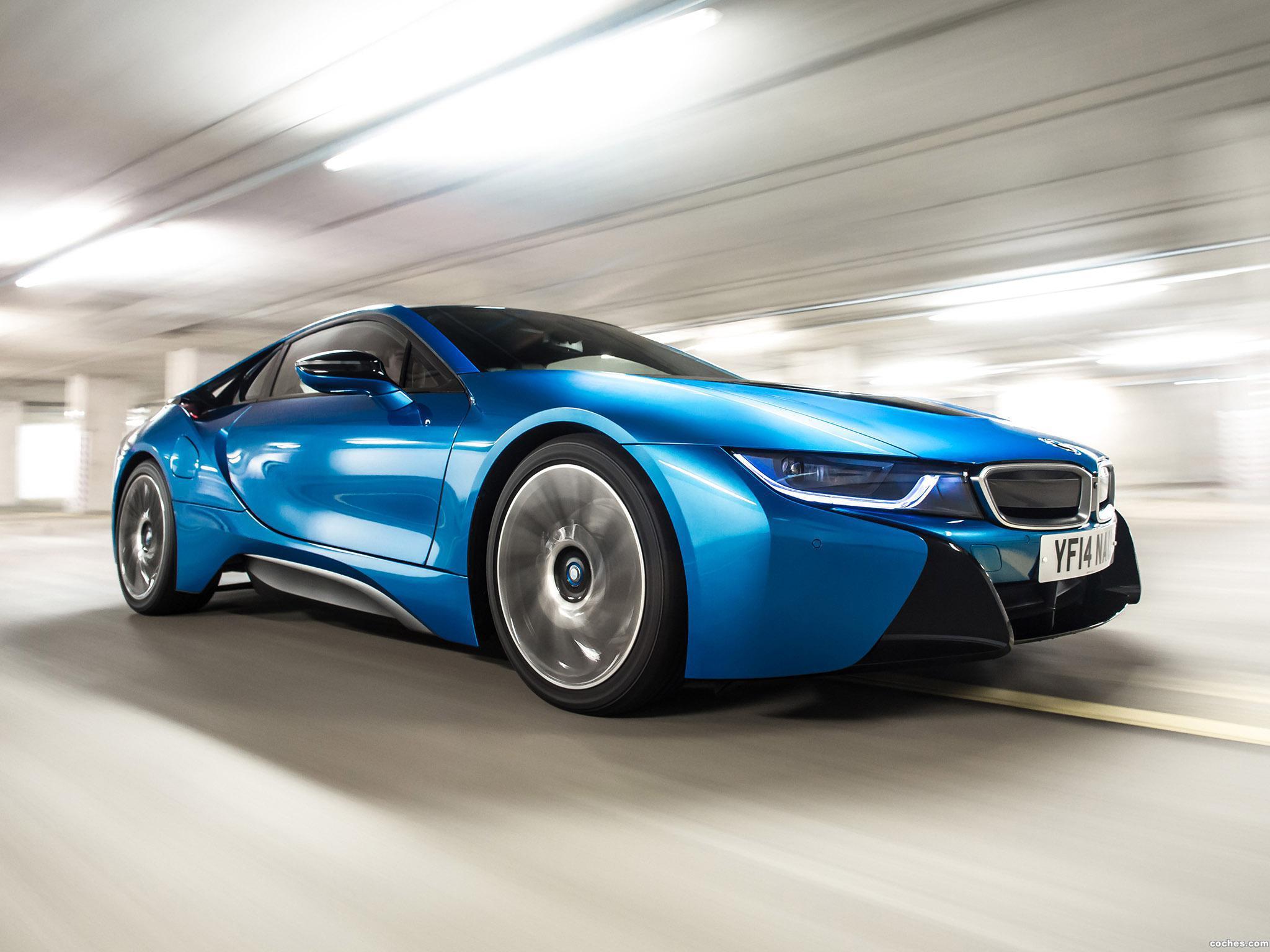 Foto 4 de BMW i8 UK 2014